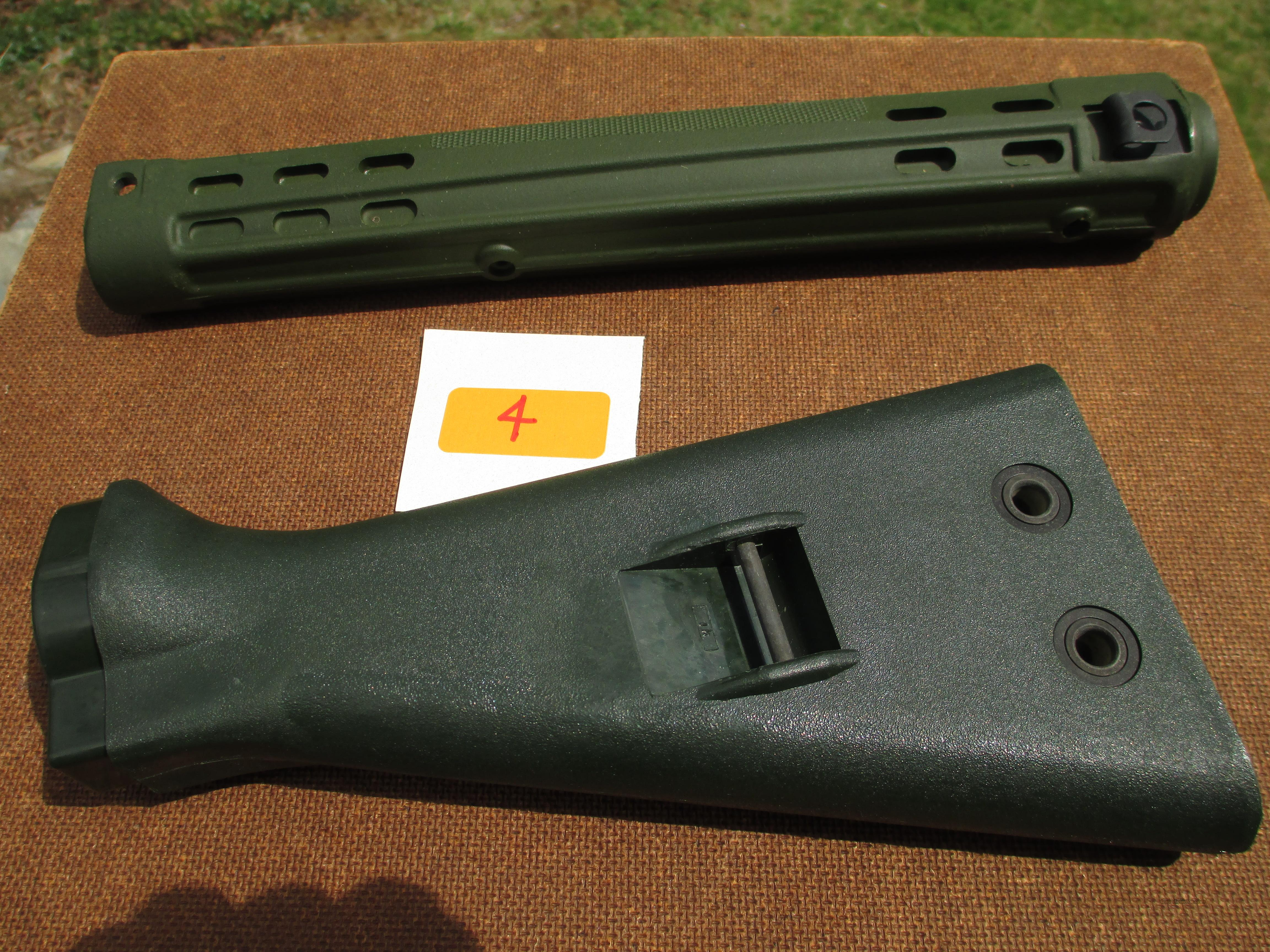 HK/G3 - SLIM LINE WEST GERMAN FOREND AND STOCK....  Non-Guns > Gun Parts > Military - Foreign