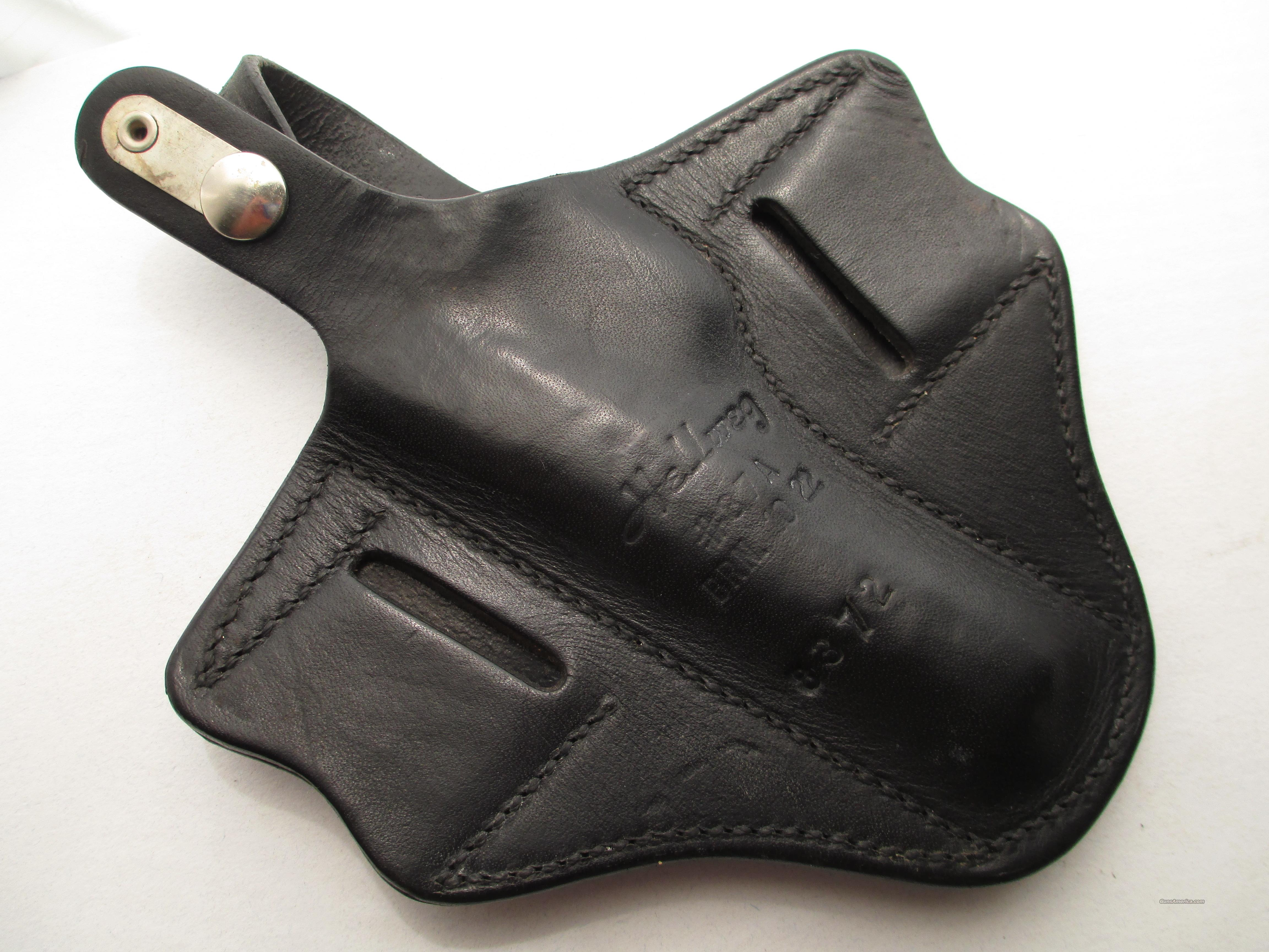 1910 1922 BROWNING  FN  HOLSTER  Hellweg #87A BRN #10 Pancake Holster  Non-Guns > Holsters and Gunleather > Concealed Carry