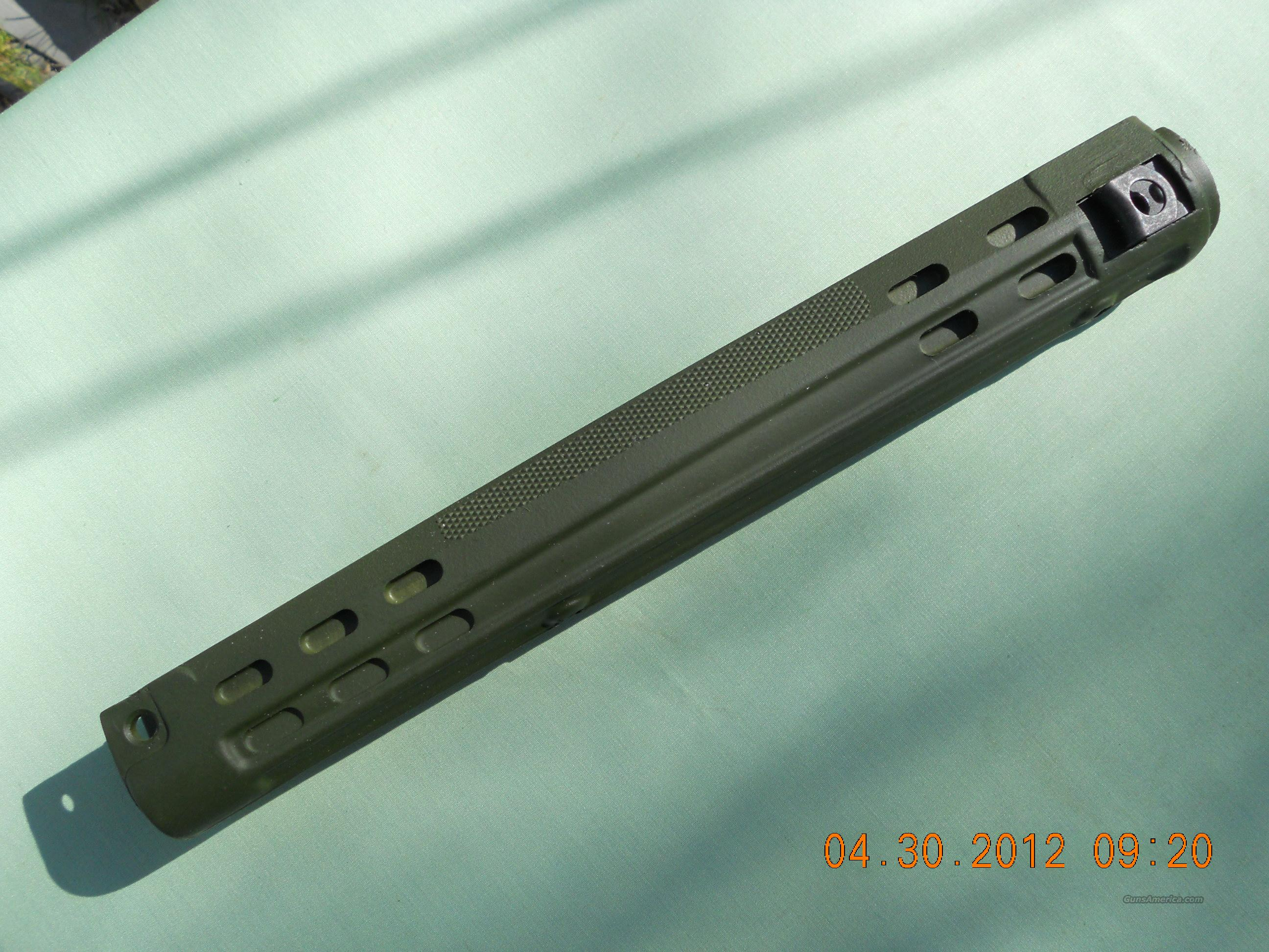 HK/G3  - GREEN SLIM LINE WEST GERMAN FOREND  Non-Guns > Gun Parts > Military - Foreign