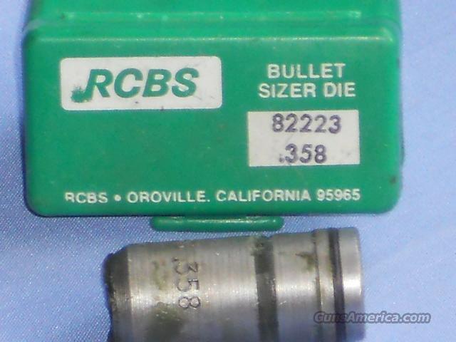 RCBS .358 SIZER DIE  Non-Guns > Bullet Making Supplies