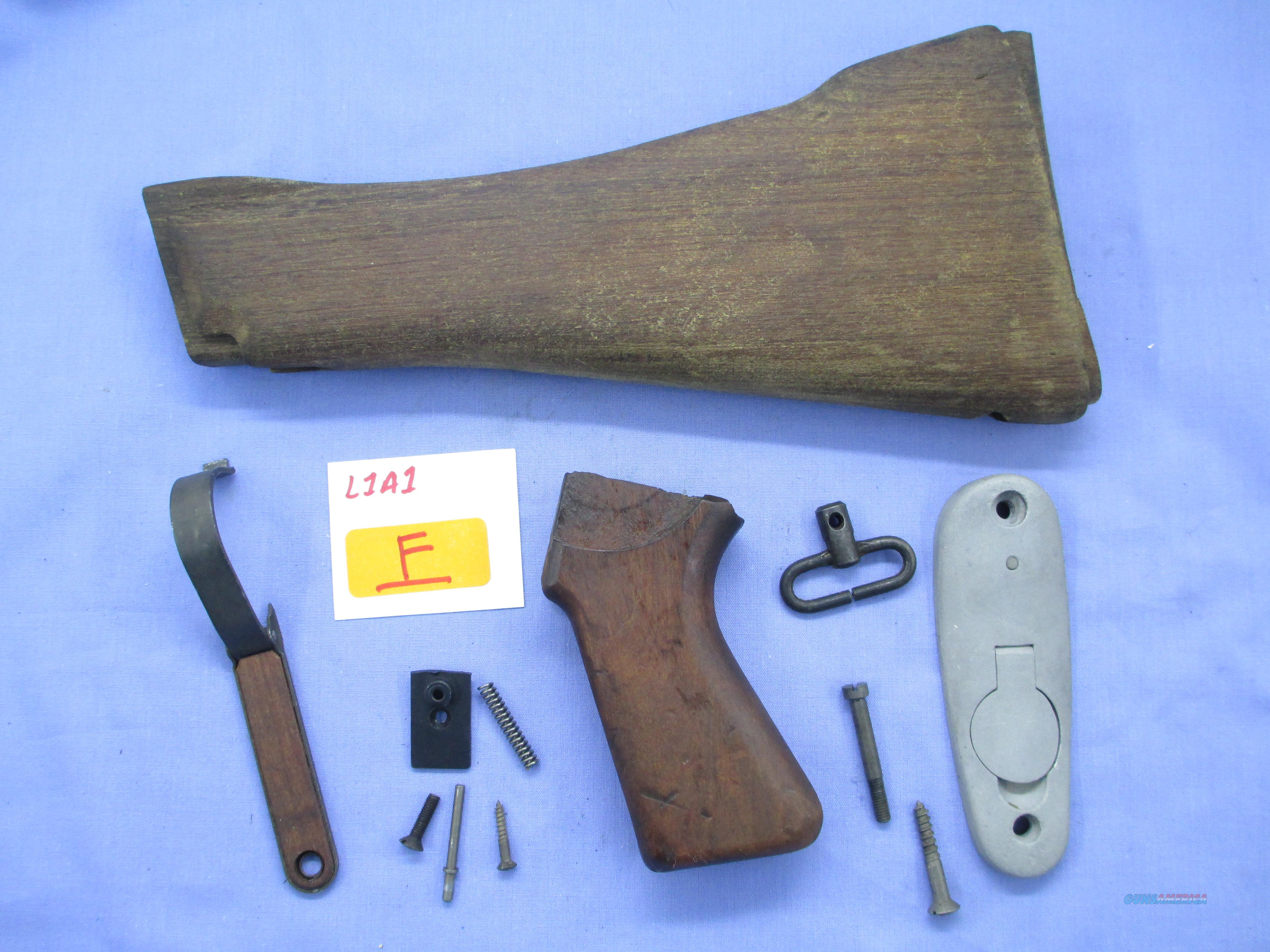 L1A1 BRITISH STOCK AND PISTOL GRIP SET  Non-Guns > Gun Parts > Military - Foreign