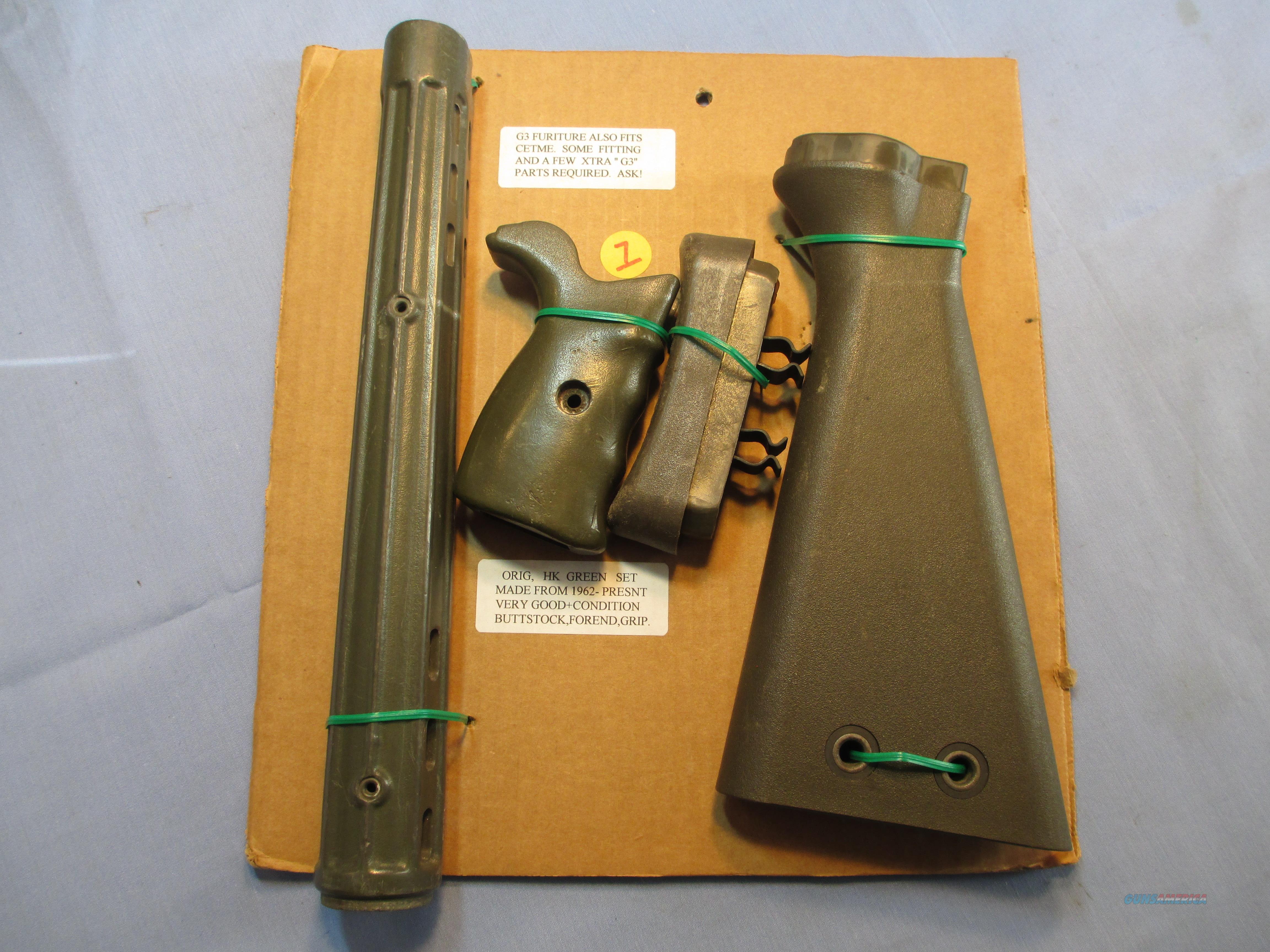 G3 HK STOCK SET  Non-Guns > Gun Parts > Military - Foreign