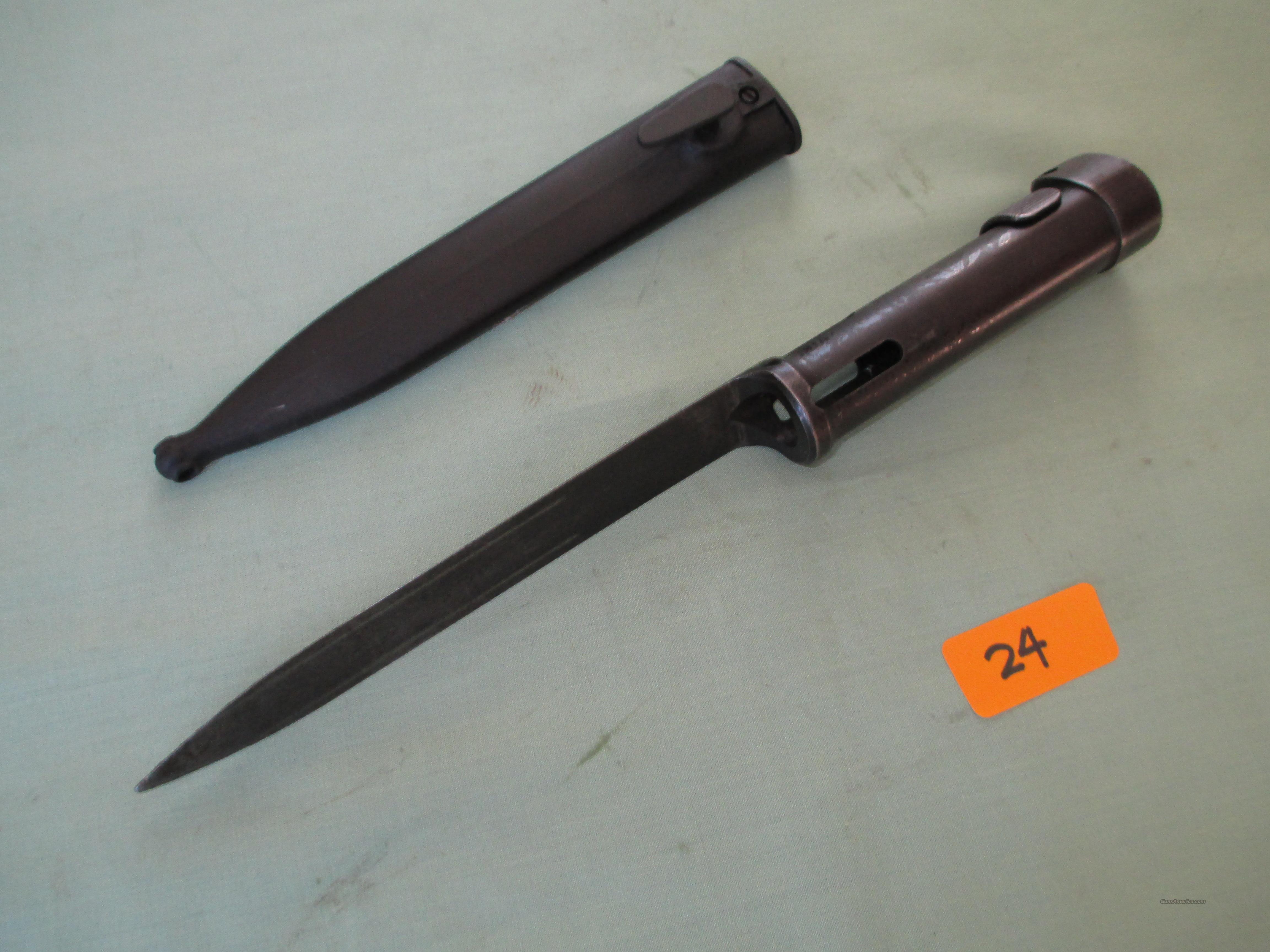 STG / 58 TUBULAR  Non-Guns > Knives/Swords > Military > Bayonets