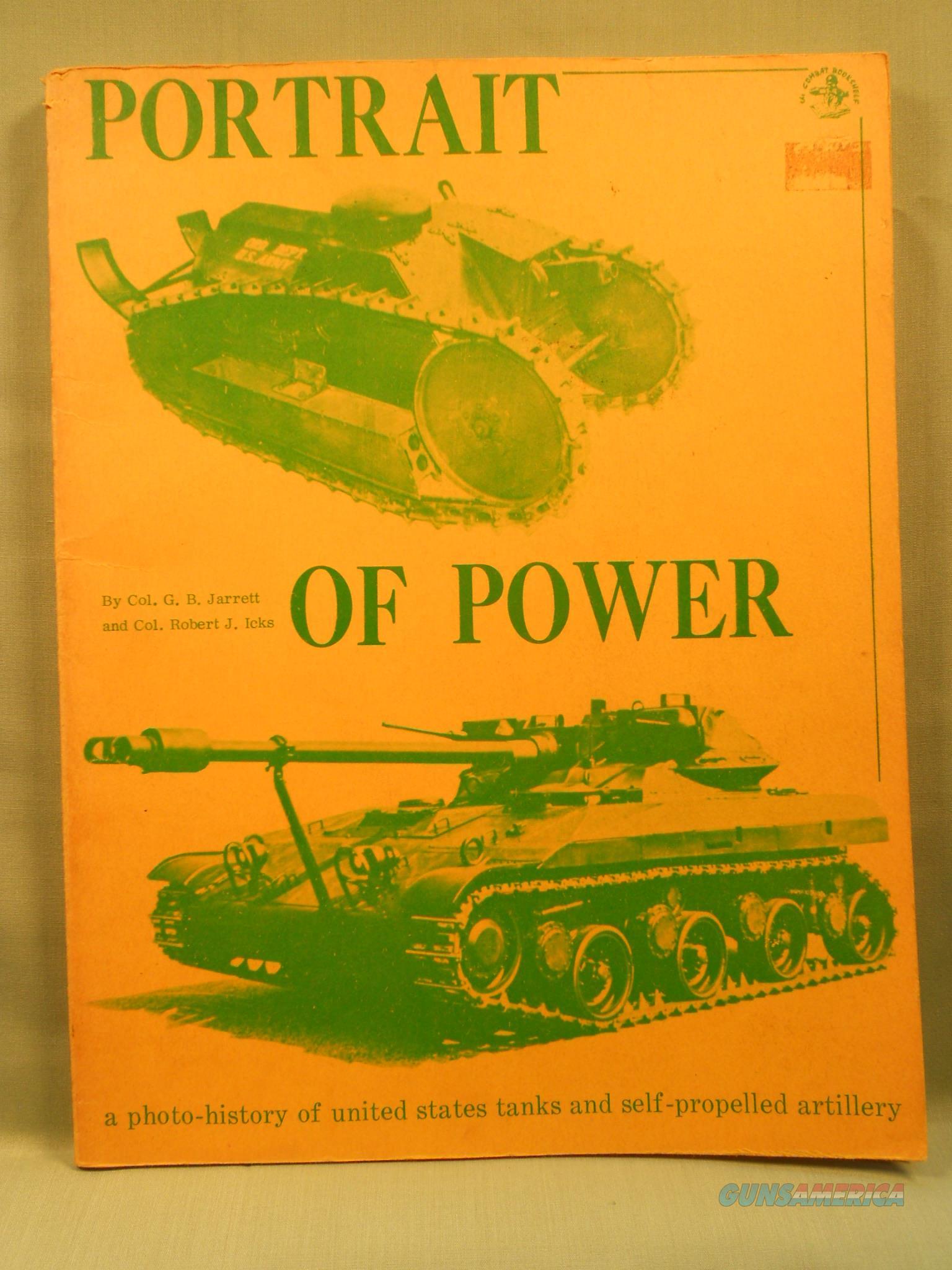 """Portrait of Power"" US Tanks & Artillery   Non-Guns > Military > Books"