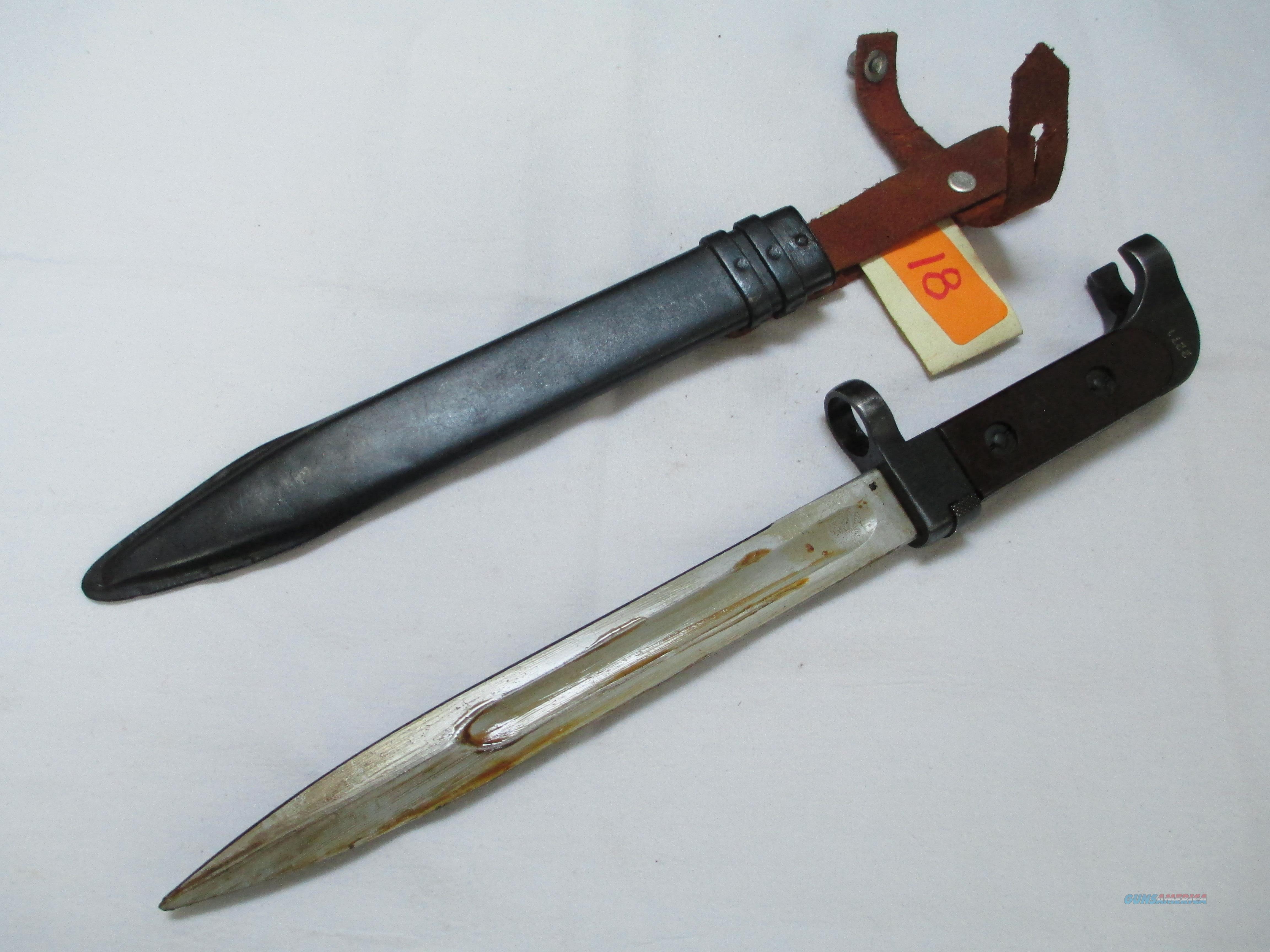 Bulgarian Bayonet & Scabbard Type 1   Non-Guns > Knives/Swords > Military > Bayonets