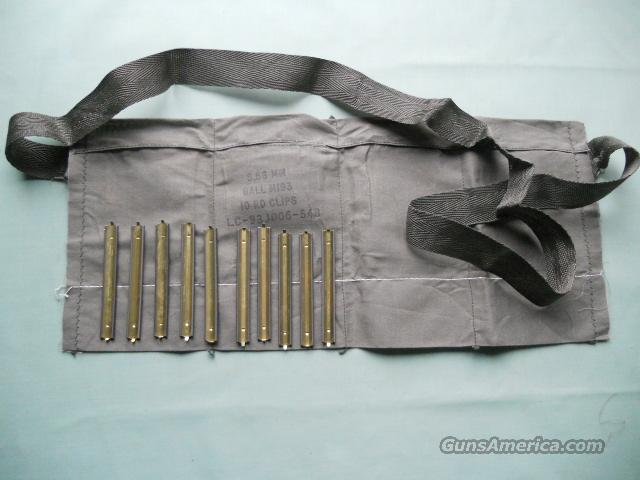 M16 BANDOLIERS WITH 10 STRIPPER CLIPS  Non-Guns > Gun Parts > M16-AR15