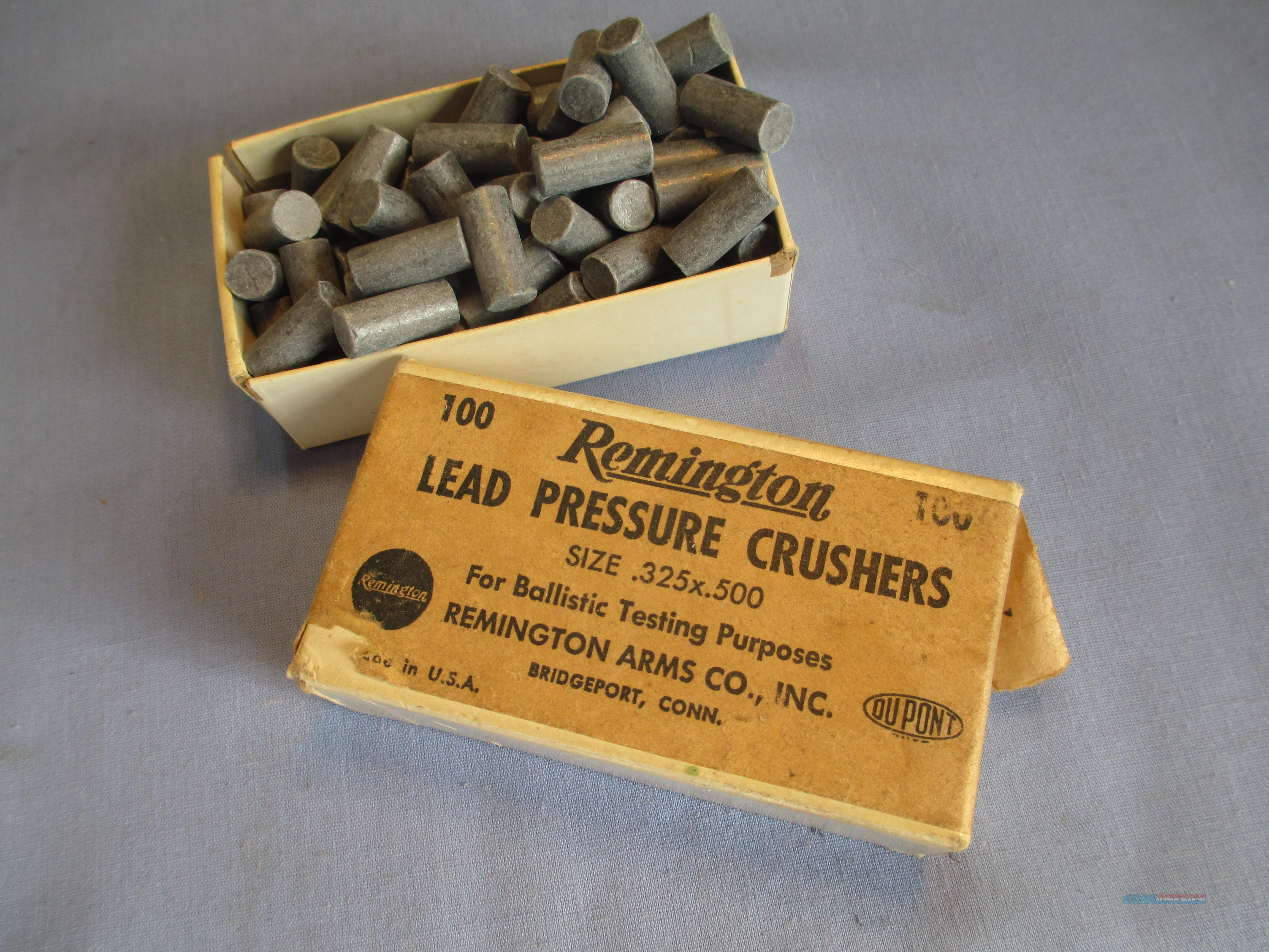 REMINGTON LEAD PRESSURE CRUSHERS   Non-Guns > Bullet Making Supplies