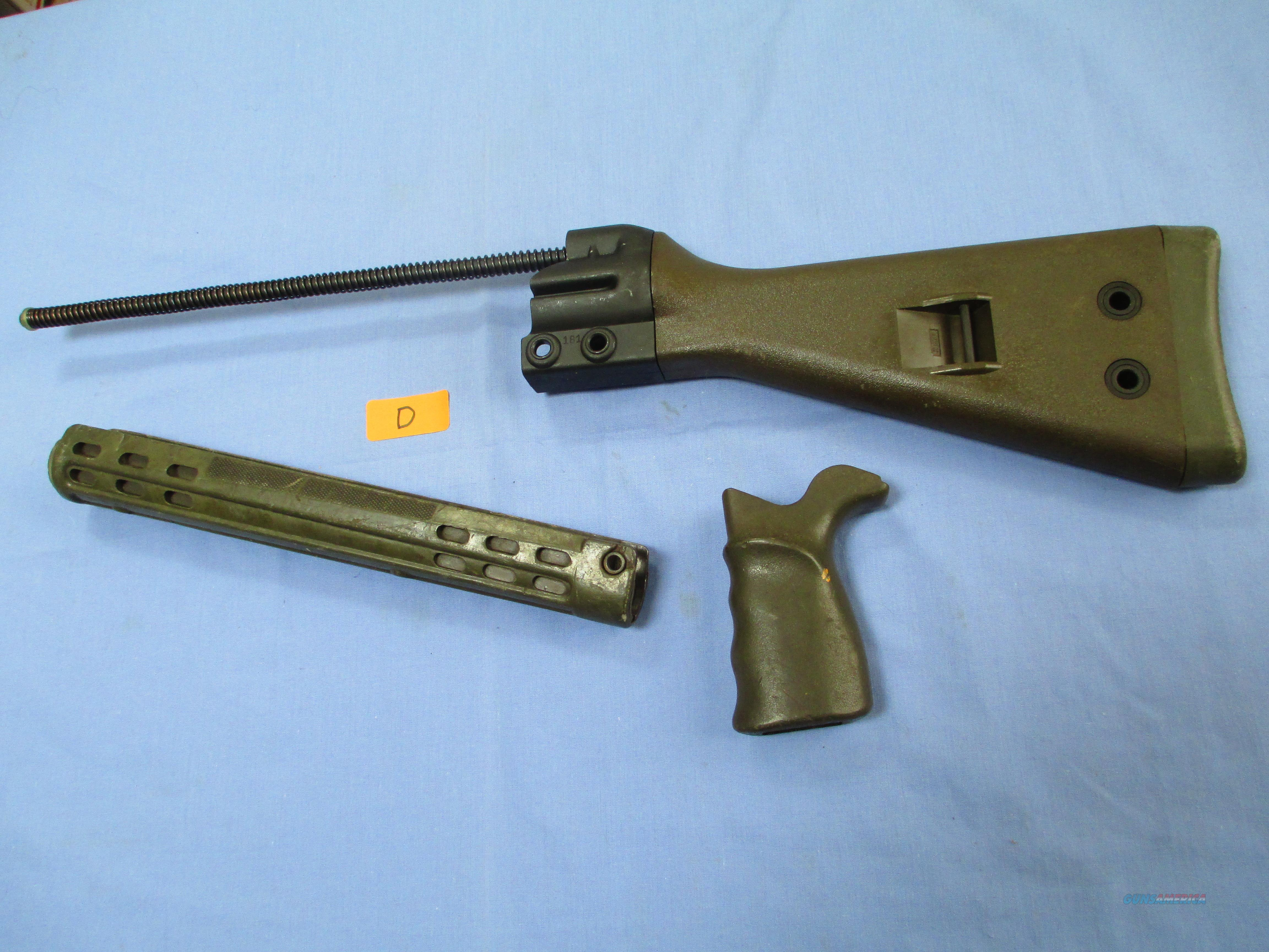 HK G3 , 91 , PTR......GERMAN SURPLUS GREEN STOCK SET  Non-Guns > Gun Parts > Military - Foreign