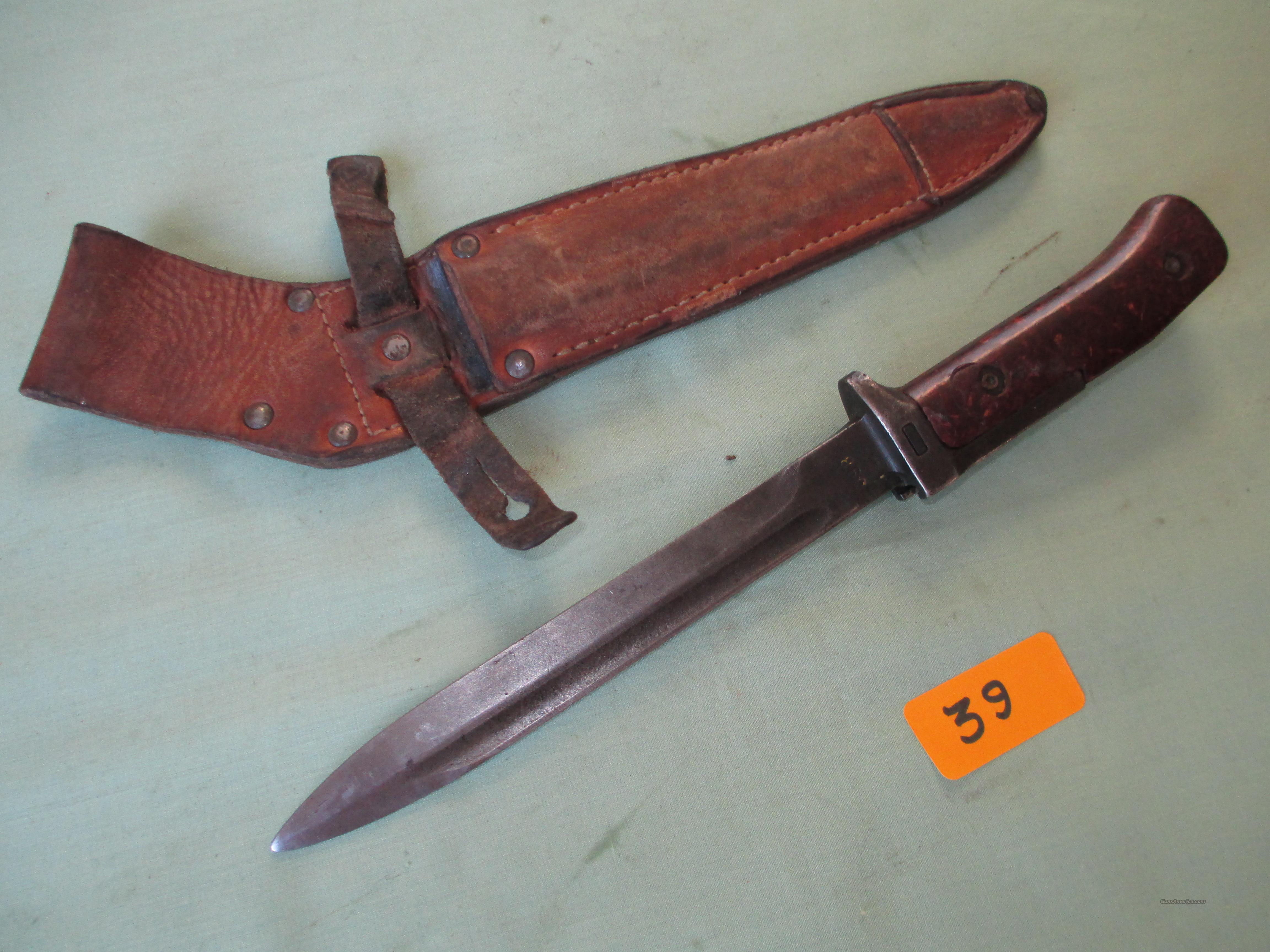 VZ58 CZECH  Non-Guns > Knives/Swords > Military > Bayonets