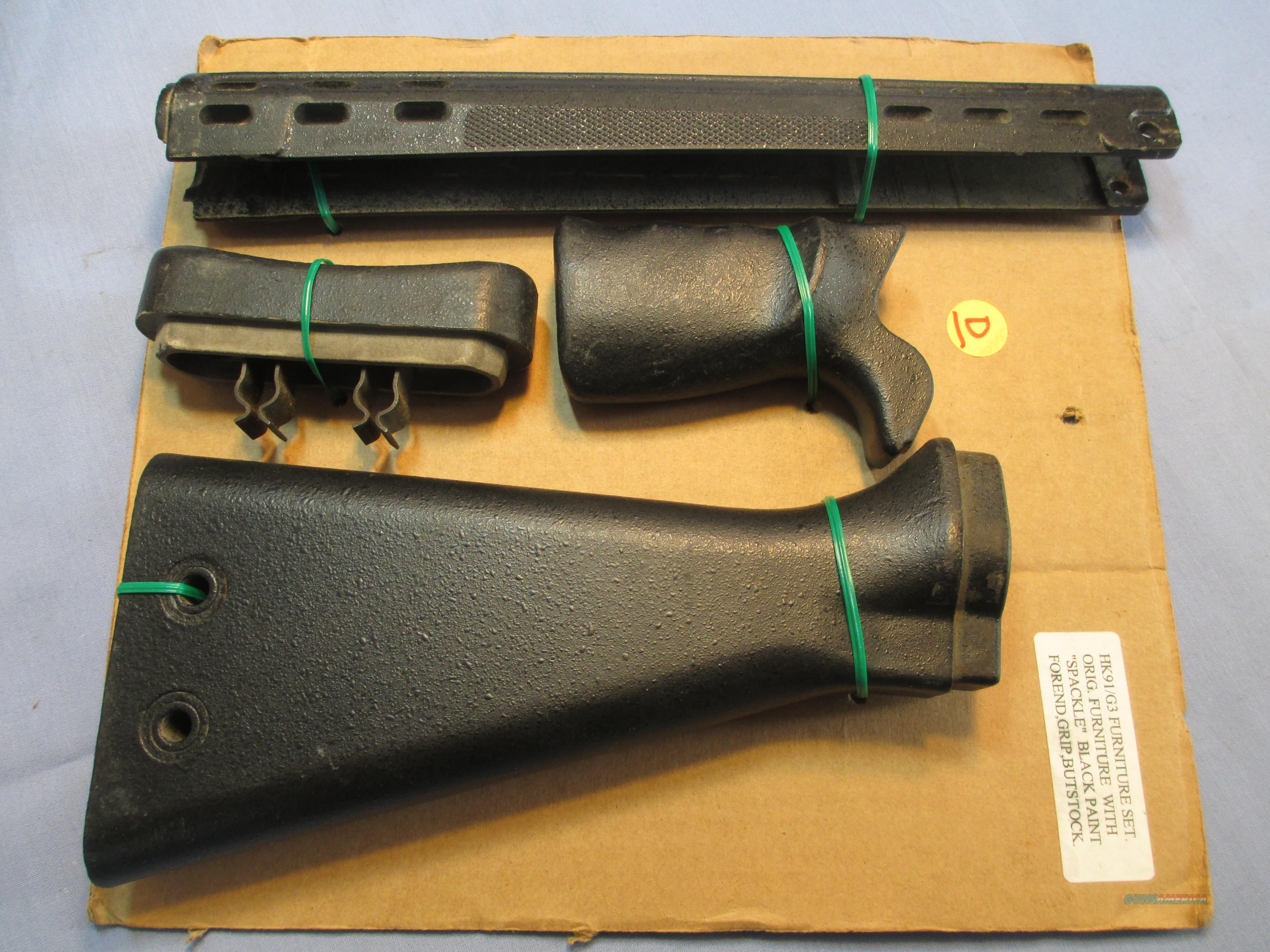 G3 HK STOCK SET  Non-Guns > Gun Parts > Military - Foreign