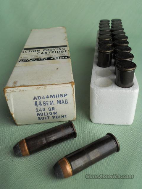 44 REM., MAG ACTION PROVING CARTRIDGES  Non-Guns > Gunsmith Tools/Supplies