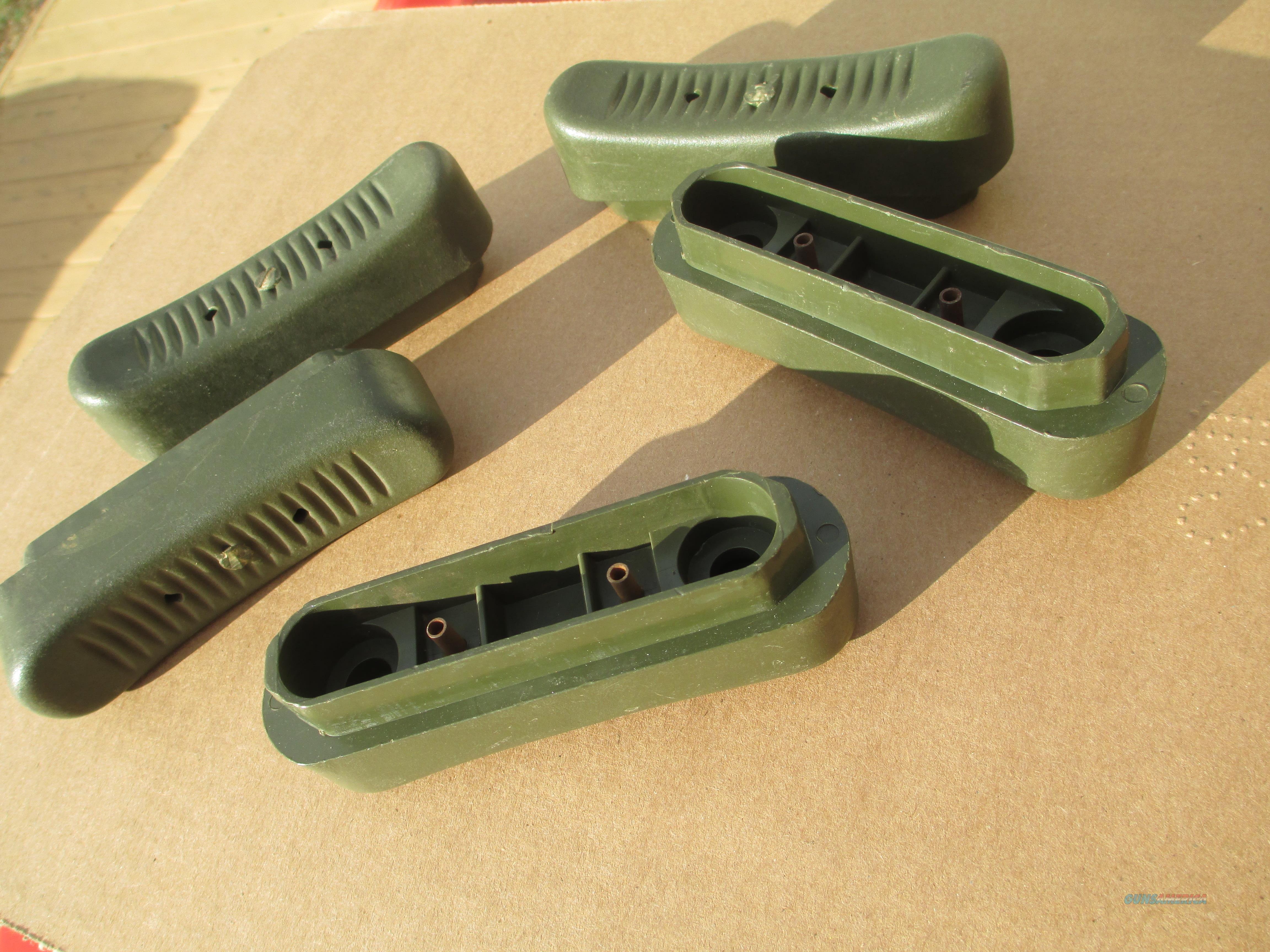 G3   HK91 PTR GREEN BUTTPAD NEW, GERMAN 5 PACK  Non-Guns > Gun Parts > Military - Foreign