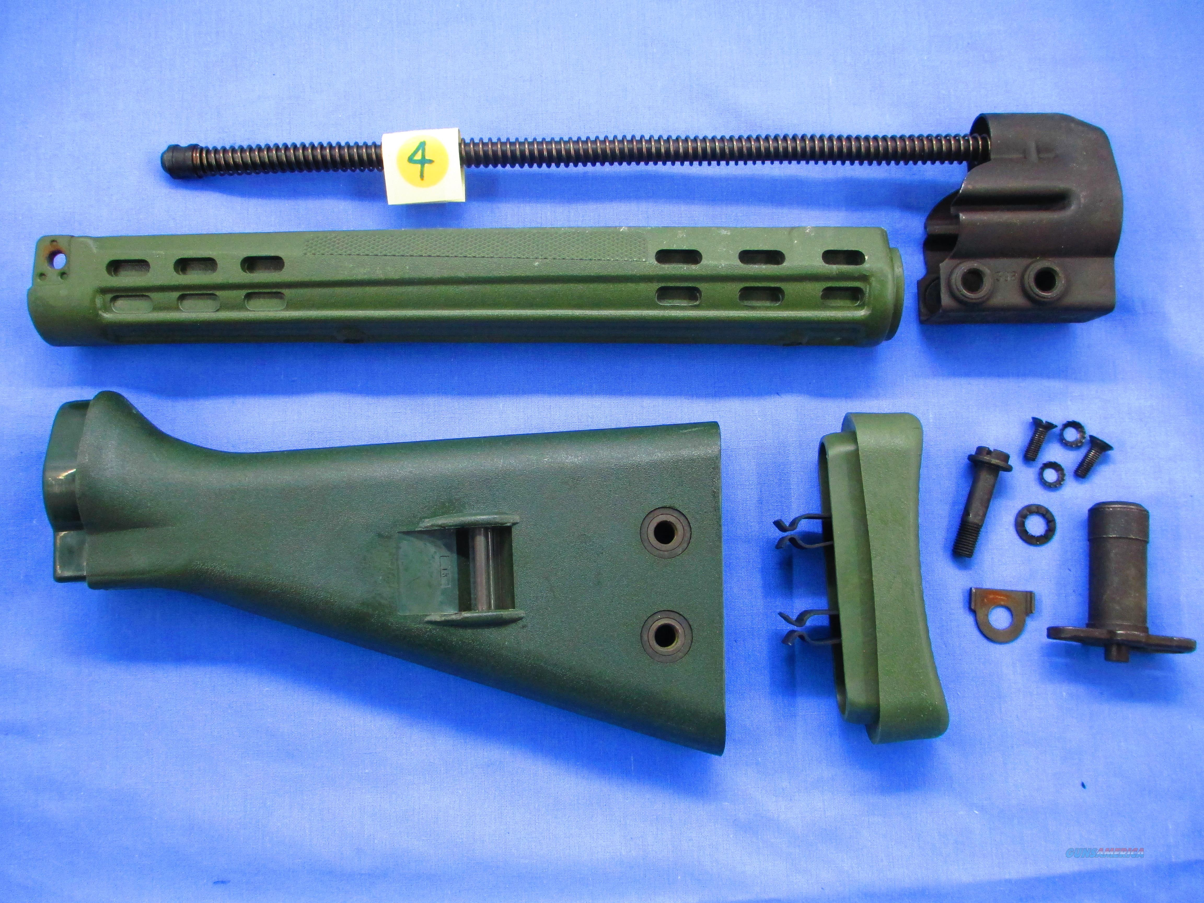 HK / G3 - SLIM LINE FMP  FOREND AND WEST GERMAN STOCK...SET  Non-Guns > Gun Parts > Military - Foreign