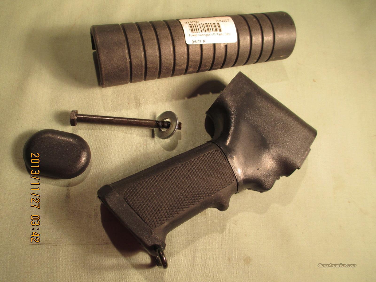 REMINGTON..870 PISTOL GRIP AND FOREND   Non-Guns > Gun Parts > Stocks > Polymer
