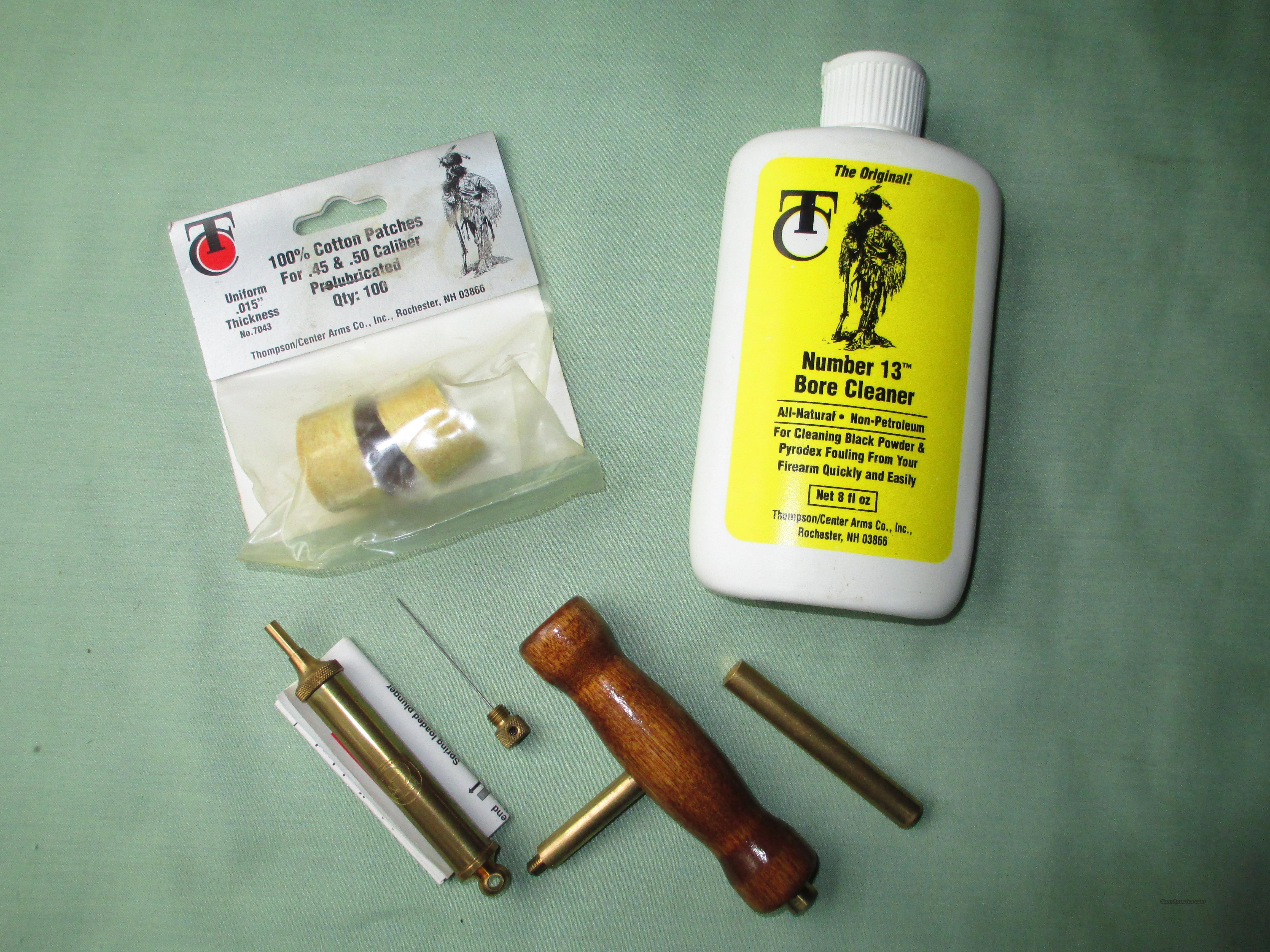 THOMPSON CENTER ASSORTMENT  Non-Guns > Black Powder Muzzleloading