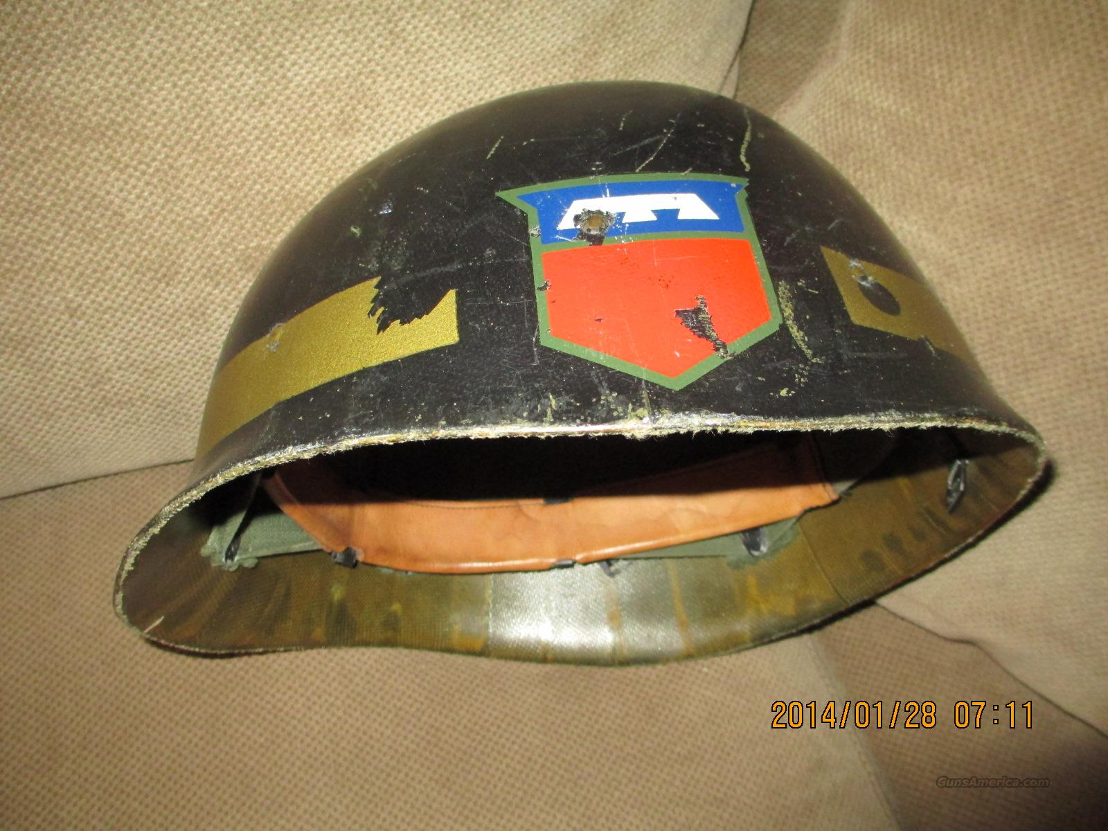 CIVIL  Defence HELMET LINER ARMY'S 76 DIVISION  Non-Guns > Military > Memorabilia