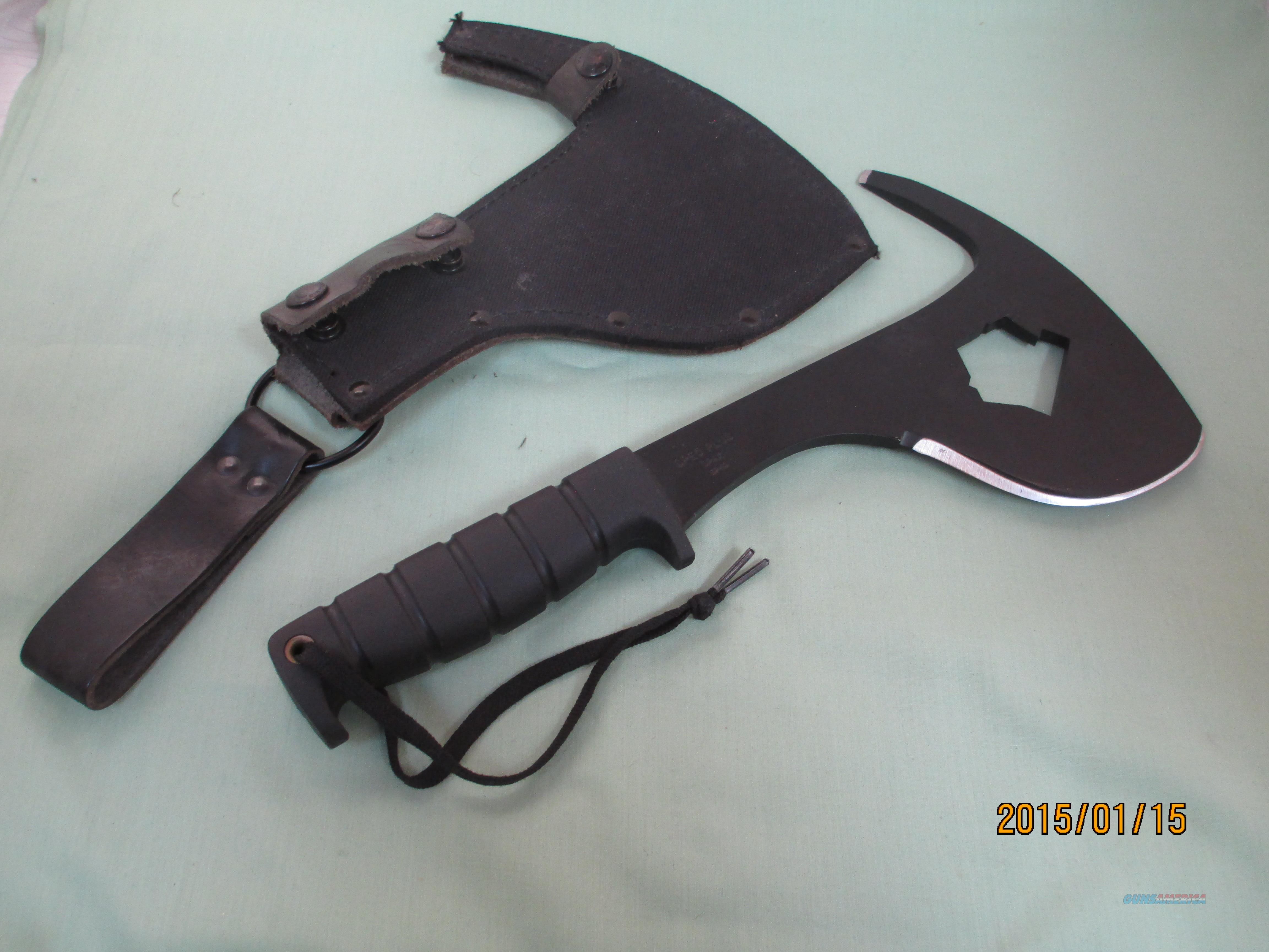 Ontario Knife Spec Plus SP16 Spax Machete W/Sheath 8420  Non-Guns > Knives/Swords > Other Bladed Weapons > Tomahawks/Axes