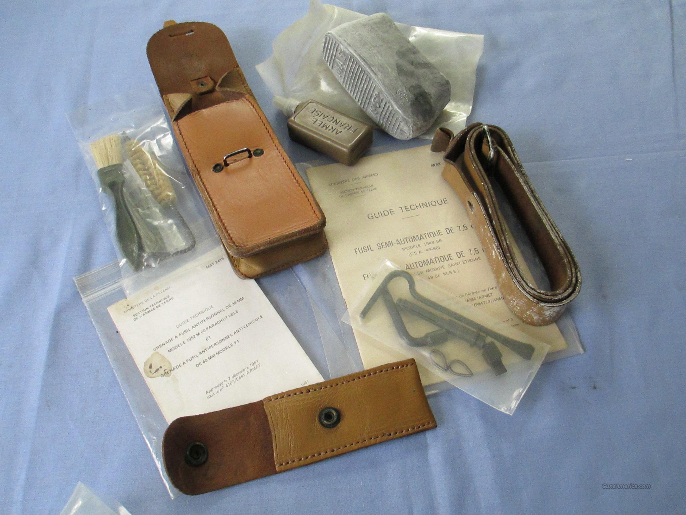 MAS 59/56 ASSORTED PARTS & ACCESSORIE KIT  Non-Guns > Gun Parts > Military - Foreign