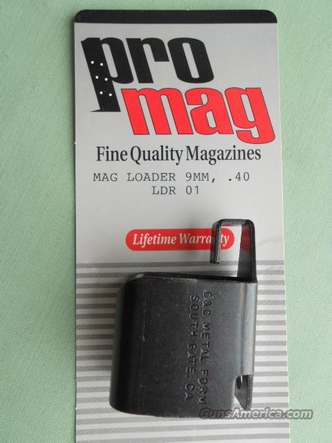 PRO MAG ,, MAG LOADER, 9MM, .40 S&W 3PK.  Non-Guns > Magazines & Clips > Pistol Magazines > Other