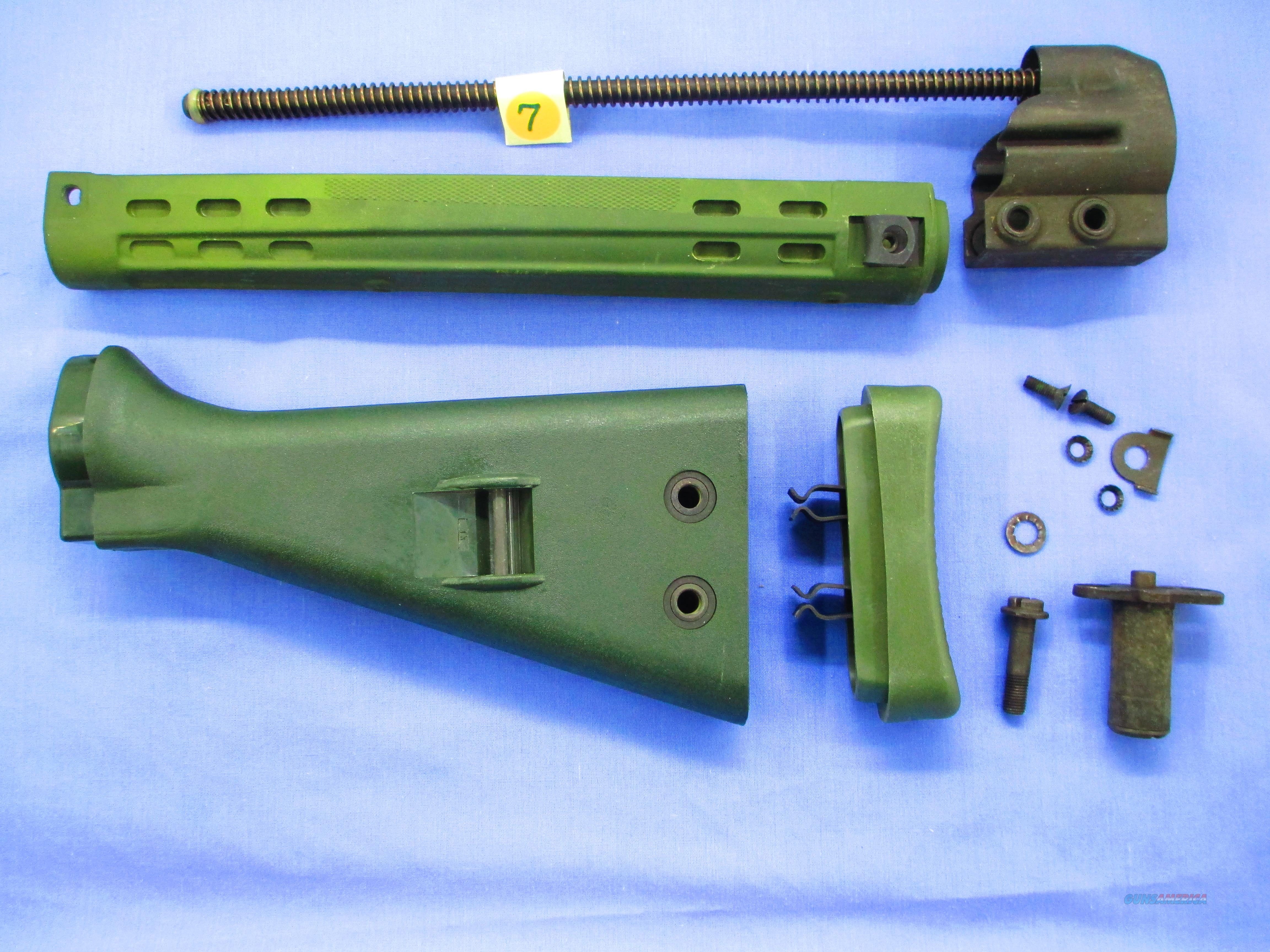 HK / G3  - SLIM LINE WEST GERMAN FOREND AND STOCK...SET  Non-Guns > Gun Parts > Military - Foreign