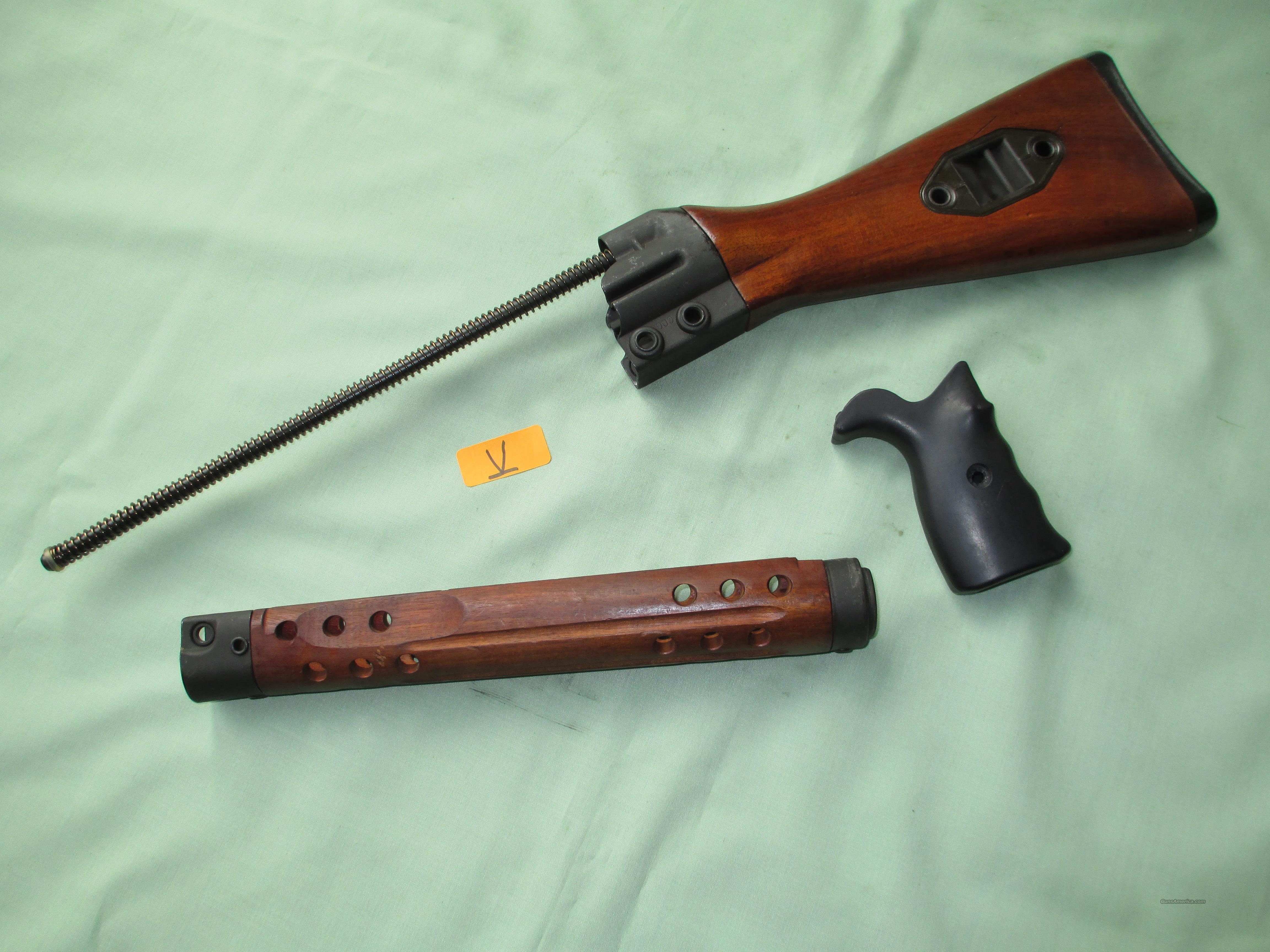 HK G3 WOOD STOCK SET  Non-Guns > Gun Parts > Military - Foreign
