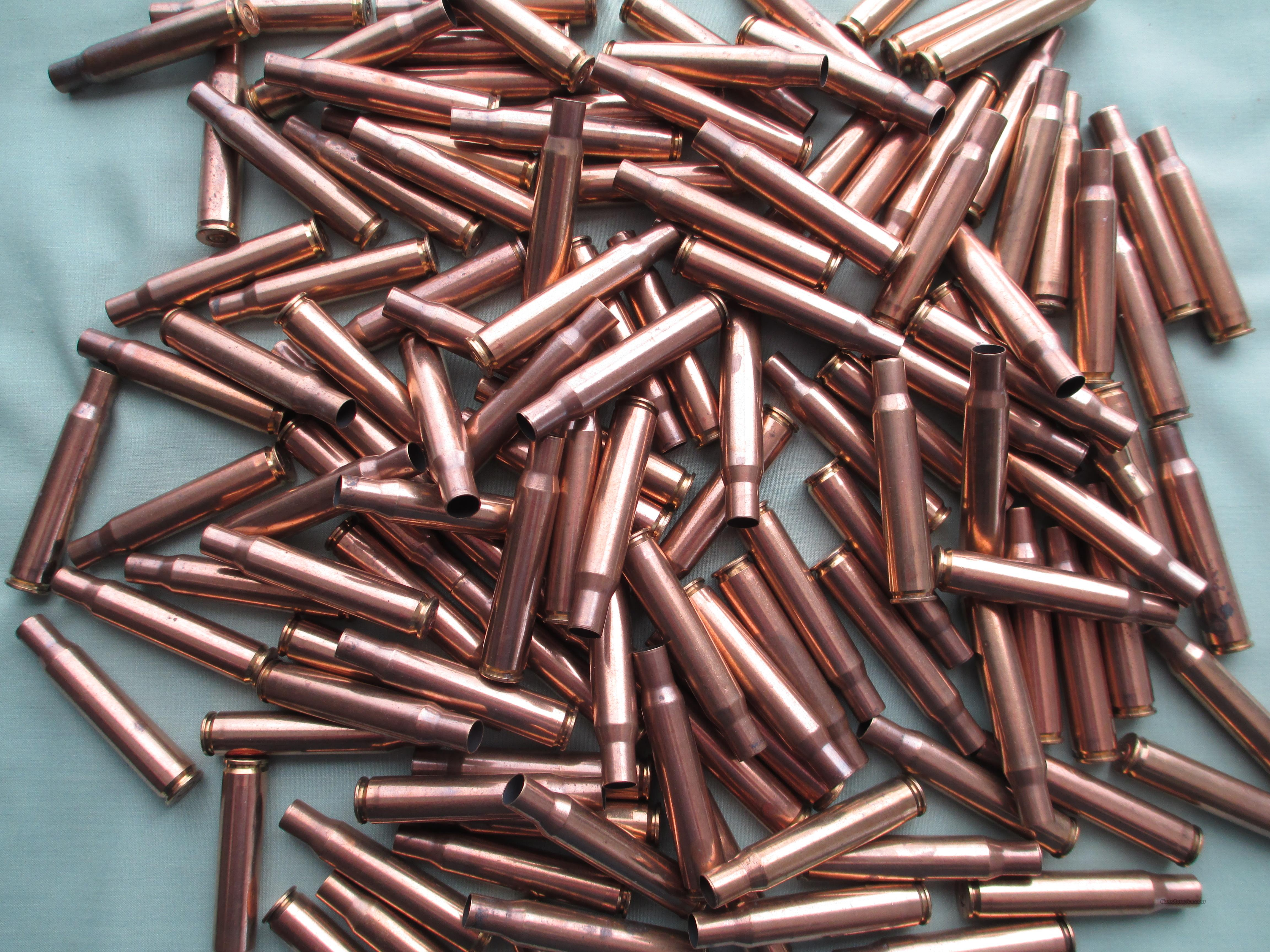 30-06 MILITARY BRASS 250 PCS.  Non-Guns > Reloading > Components > Brass