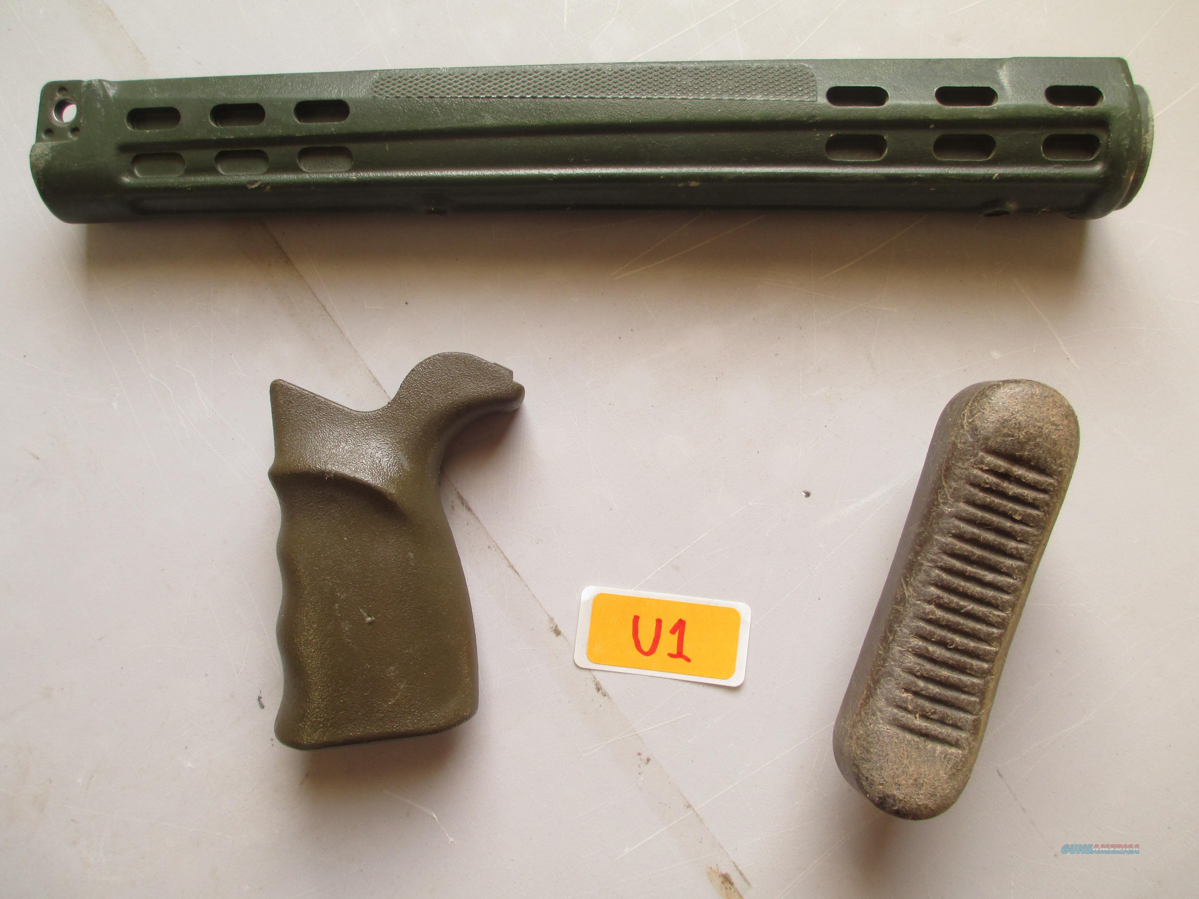 HK / G3 - FMP GERMAN CONTRACT  FOREND...GERMAN  PISTOL GRIP AND BUTTPLATE ..SET  Non-Guns > Gun Parts > Military - Foreign