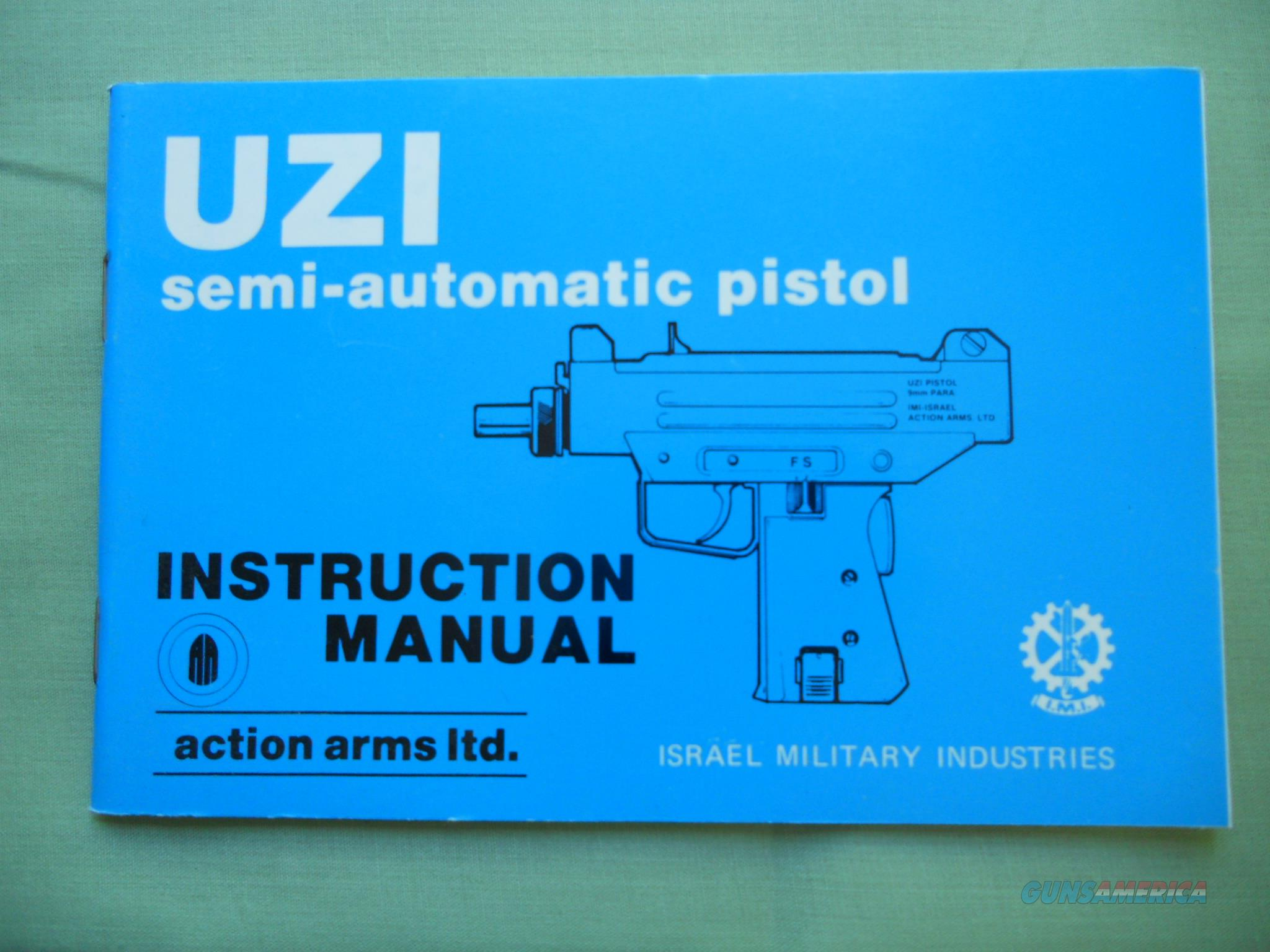 UZI 9mm And 45 Semi-Auto Pistol Instruction Manual   Non-Guns > Magazines & Clips > Subgun Magazines > Clips > Other