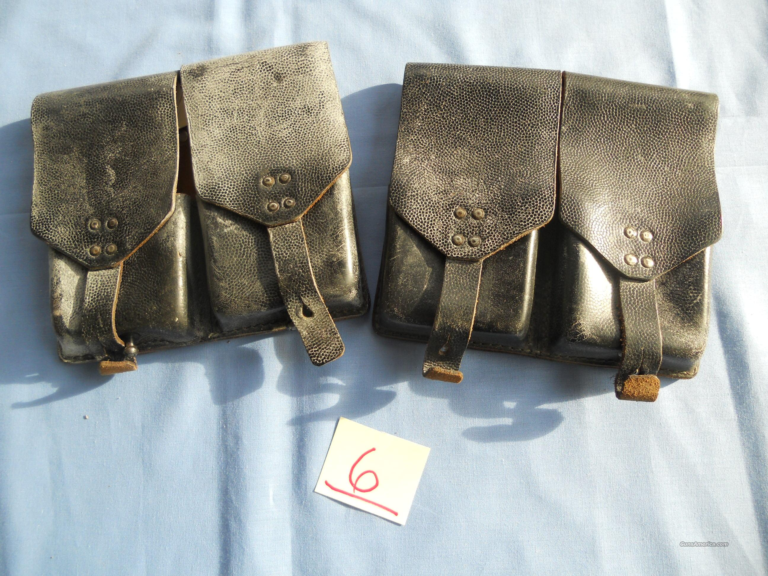 FAL AUSTRIAN ARMY LEATHER MAG POUCH  Non-Guns > Magazines & Clips > Rifle Magazines > FAL