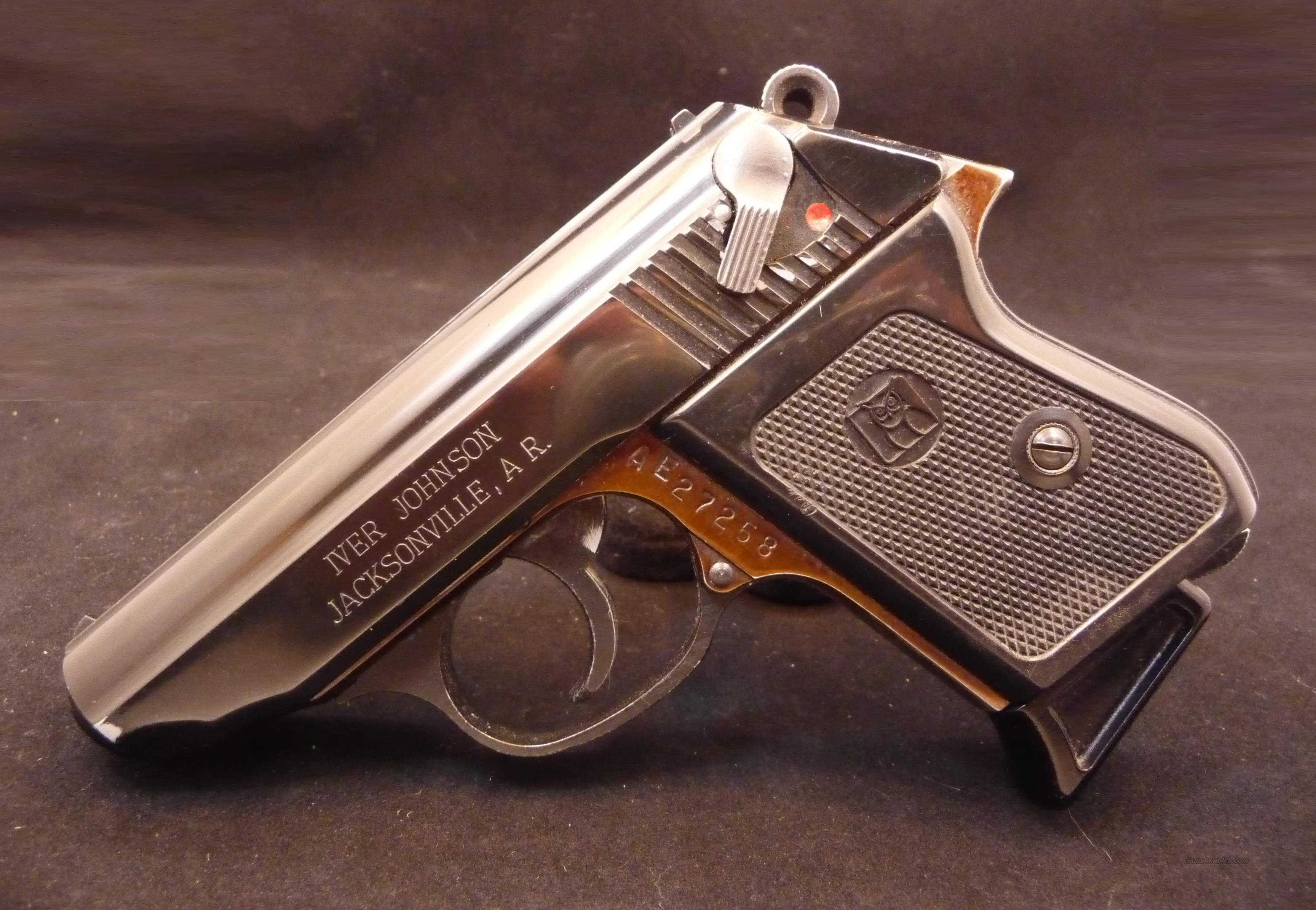 Iver Johnson TP22 22LR .22 Semi-Auto Pistol Wal... for sale