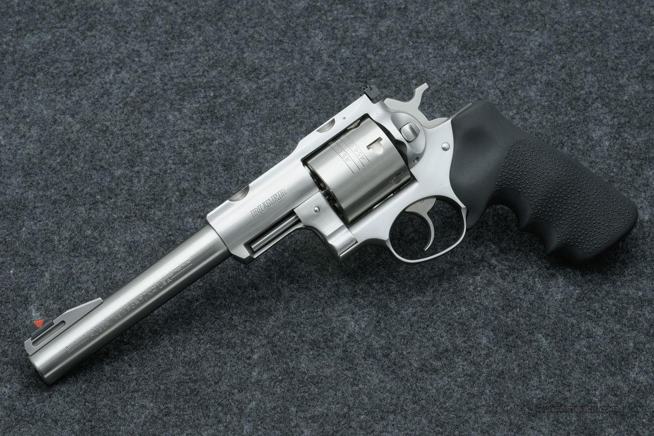 "RUGER SUPER REDHAWK HUNTER 7.5"" STAINLESS .454 CASULL , LNIB, FREE SHIPPING (KSRH-7454)  Guns > Pistols > Ruger Double Action Revolver > Redhawk Type"