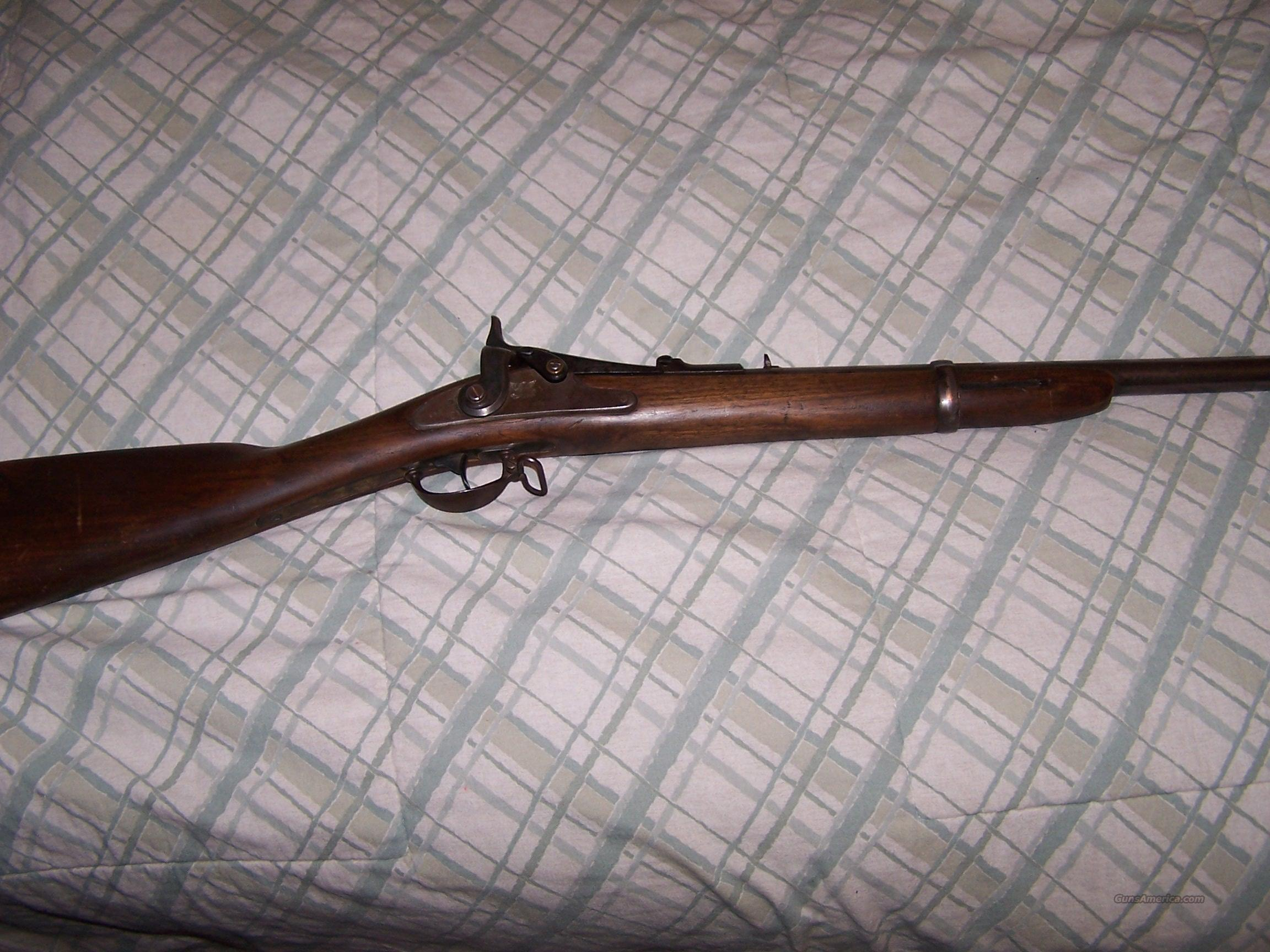 Springfield Trapdoor 1866 Allin Conversion Carbine  Guns > Rifles > Antique (Pre-1899) Rifles - Ctg. Misc.