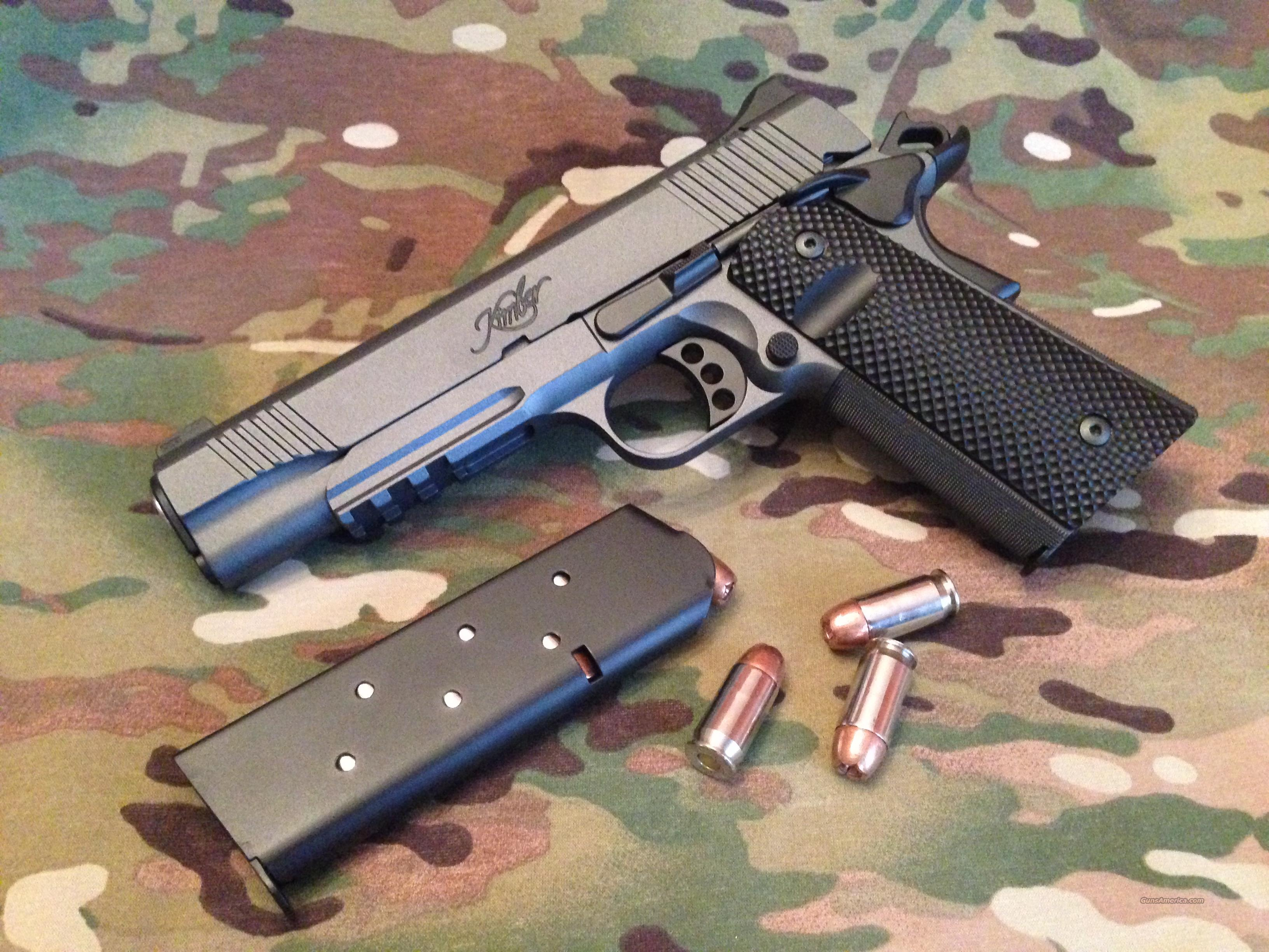 Kimber TLE/RL II Custom one of a kind  Guns > Pistols > Kimber of America Pistols