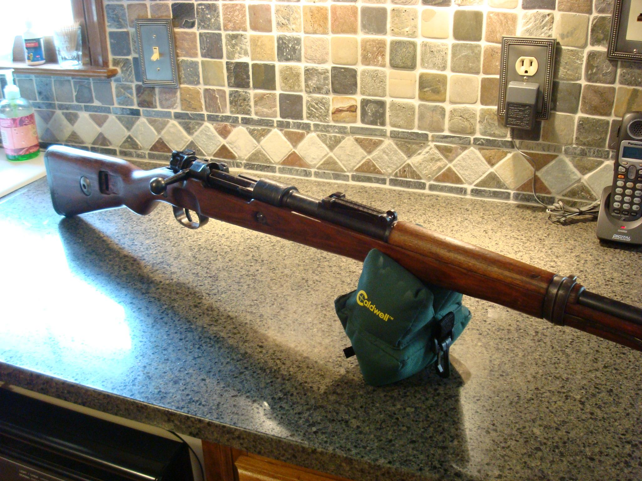 German 98k Mauser / DUV 42 Captured WWII Rifle                          Guns > Rifles > Mauser Rifles > German