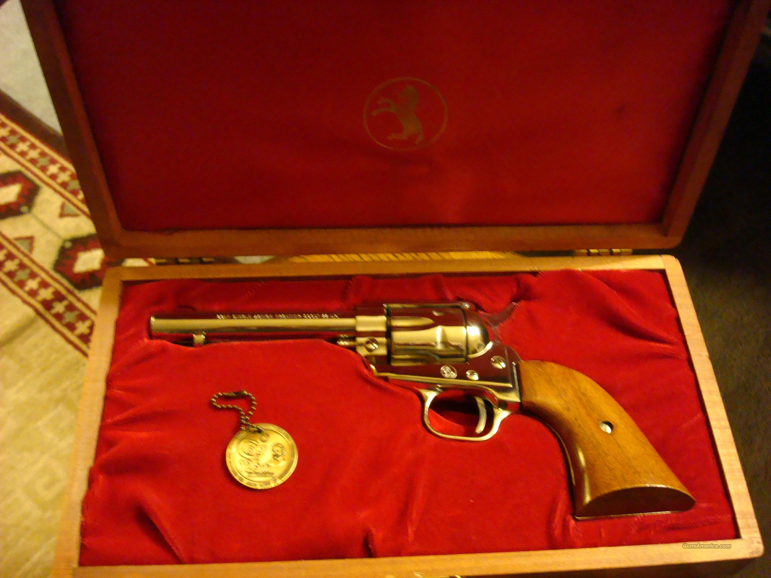 Colt Frontier Scout 22 Cal - Nickel Plating   Guns > Pistols > Colt Single Action Revolvers - Modern (22 Cal.)