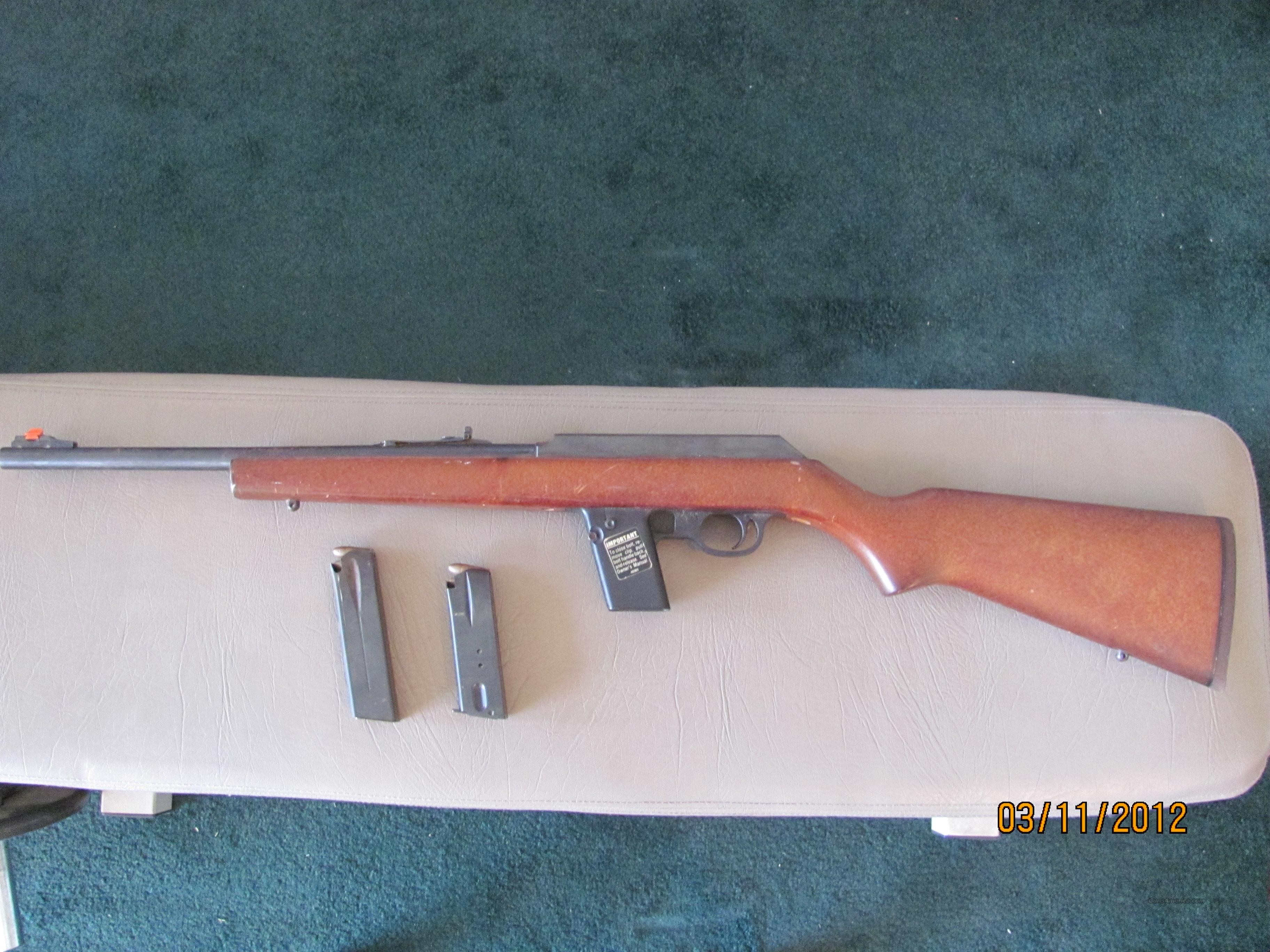 Marlin Model 9 9mm carbine  Guns > Rifles > Marlin Rifles > Modern > Semi-auto