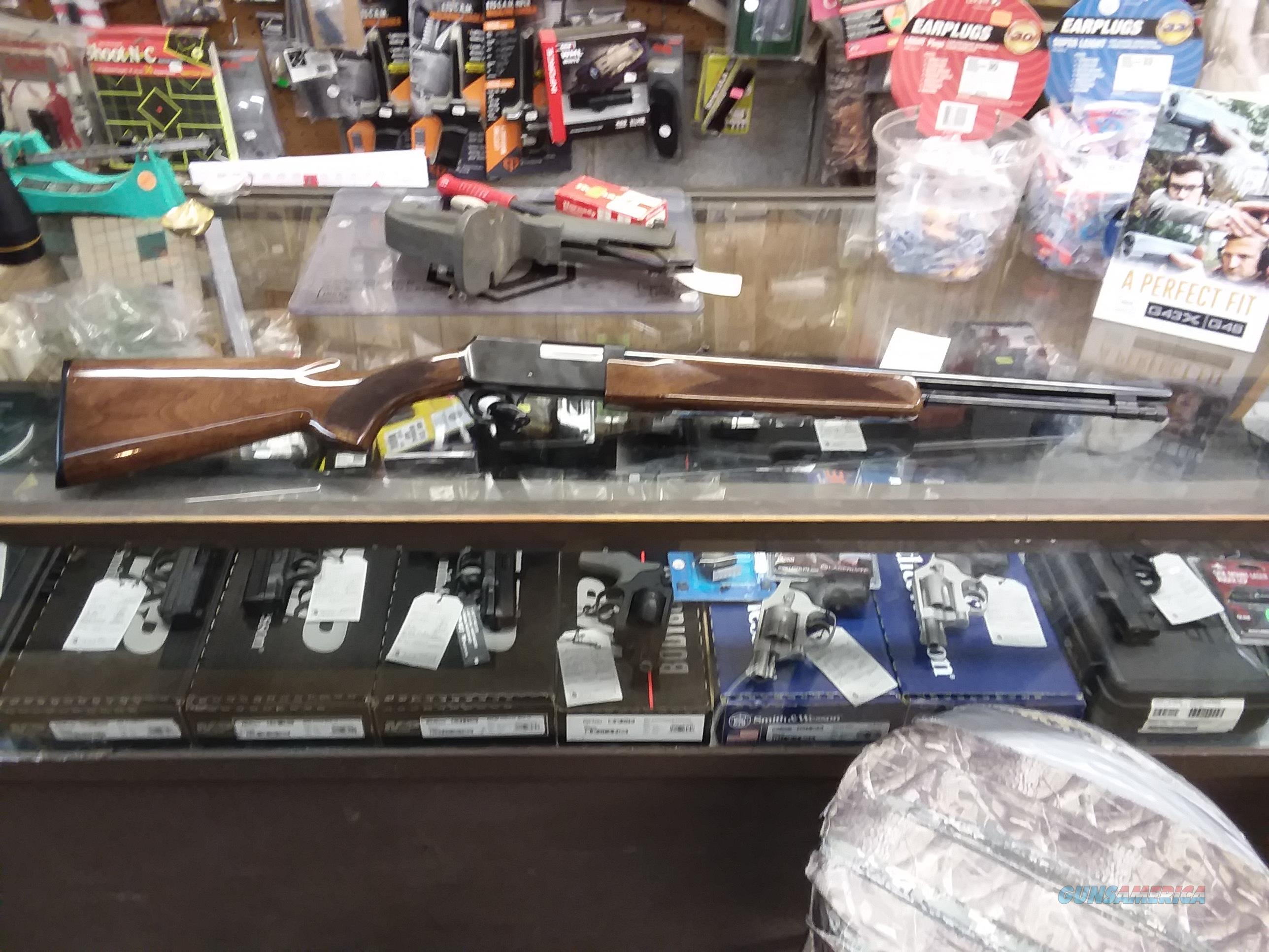 BROWNING BPR 22 RIFLE  Guns > Rifles > Browning Rifles > Pump Action
