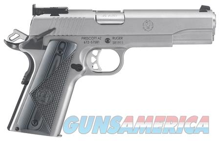 RUGER MODEL 6736 SR1911 TARGET 45ACP STAINLESS STEEL   Guns > Pistols > Ruger Semi-Auto Pistols > 1911