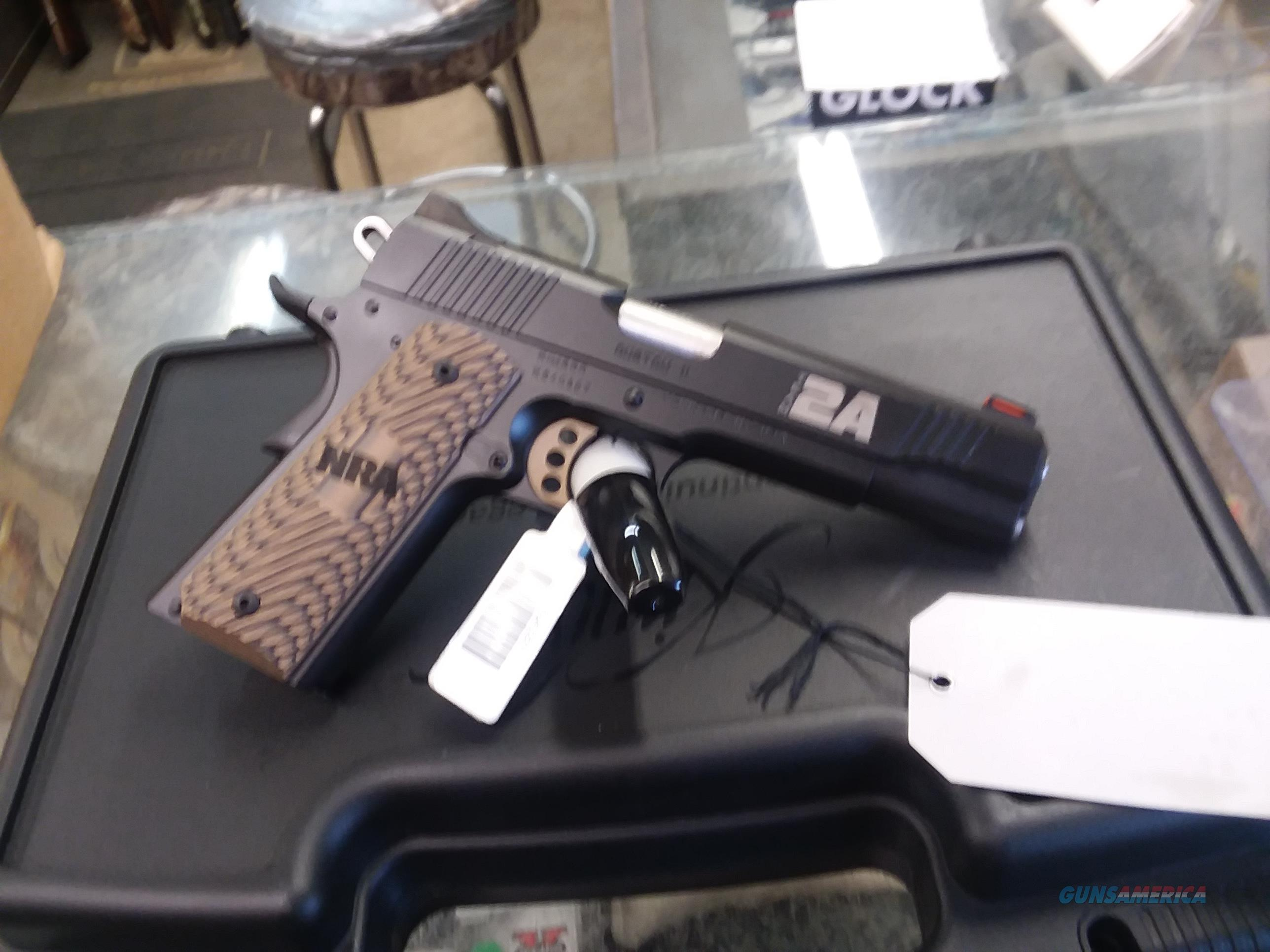 KIMBER CUSTOM II 2 AMENDMENT EDITION 45 ACP  Guns > Pistols > Kimber of America Pistols > 1911
