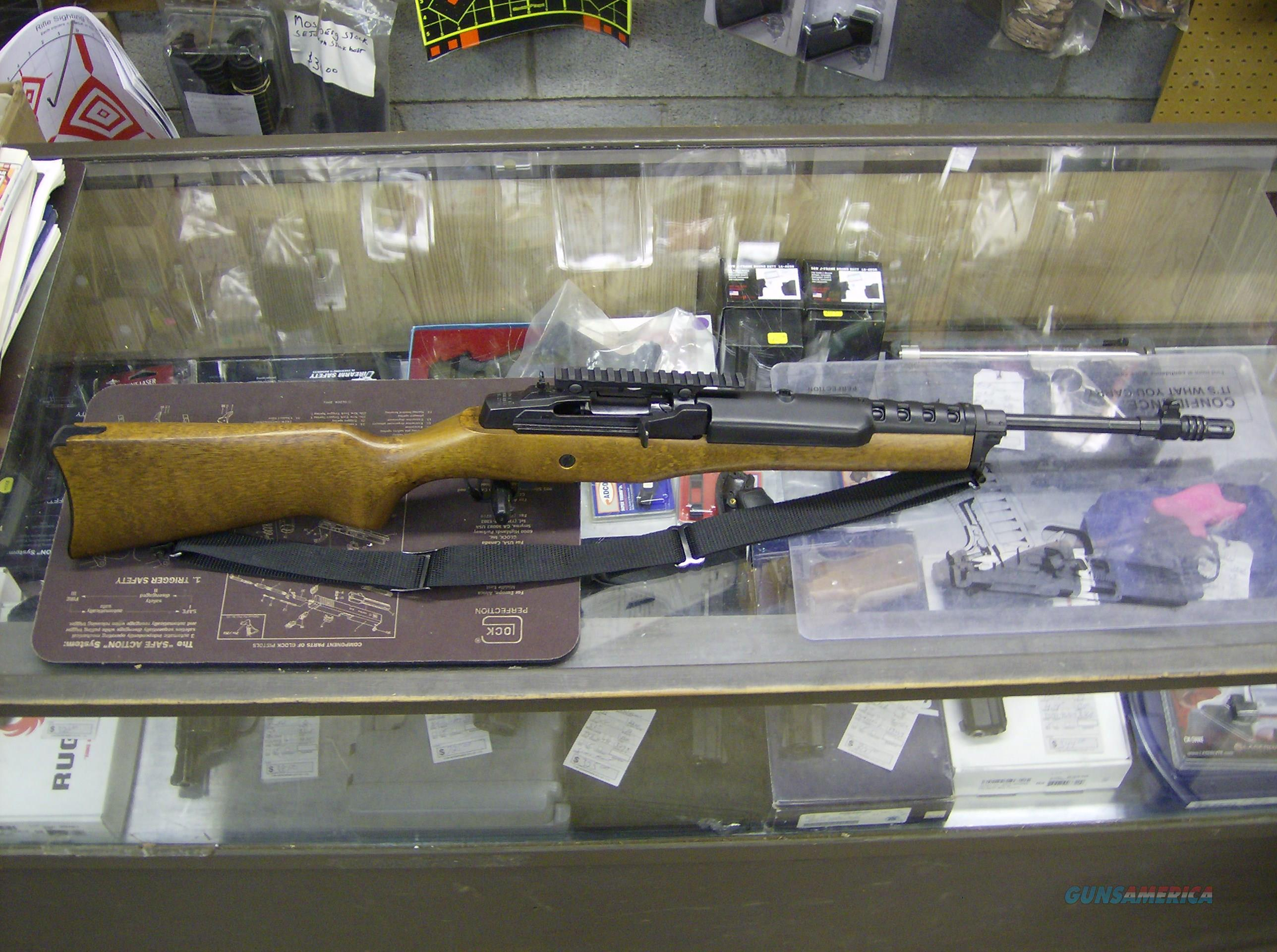 RUGER RANCH MINI 14 SEMI-AUTO RIFLE IN 223, MADE AT SOUTHPORT,CONN. PLANT  Guns > Rifles > Ruger Rifles > Mini-14 Type