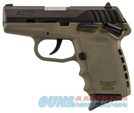 SCCY INDUSTRIES CPX1CBDE COMPACT 9MM PISTOL  Guns > Pistols > SCCY Pistols > CPX1