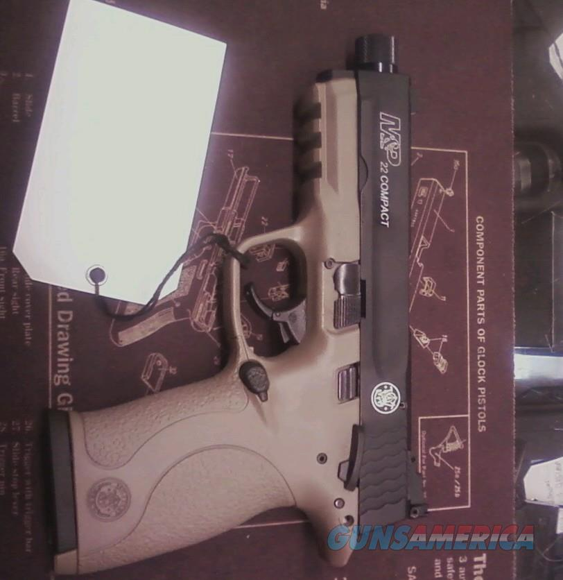 S&W M&P COMPACT 22 IN FDE WITH T/B  Guns > Pistols > Smith & Wesson Pistols - Autos > .22 Autos