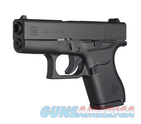 GLOCK PI4350201 GLOCK 43 SUBCOMPACT 9MM   Guns > Pistols > Glock Pistols > 43/43X