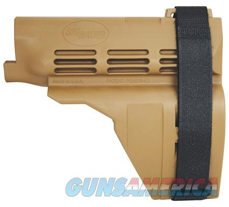 SIG SAUER SB15 PISTOL STABILIZING BRACE  Non-Guns > Gun Parts > Stocks > Polymer