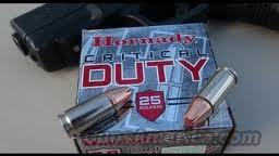 HORNADY 9mm CRITICAL DUTY AMMO  Non-Guns > Ammunition
