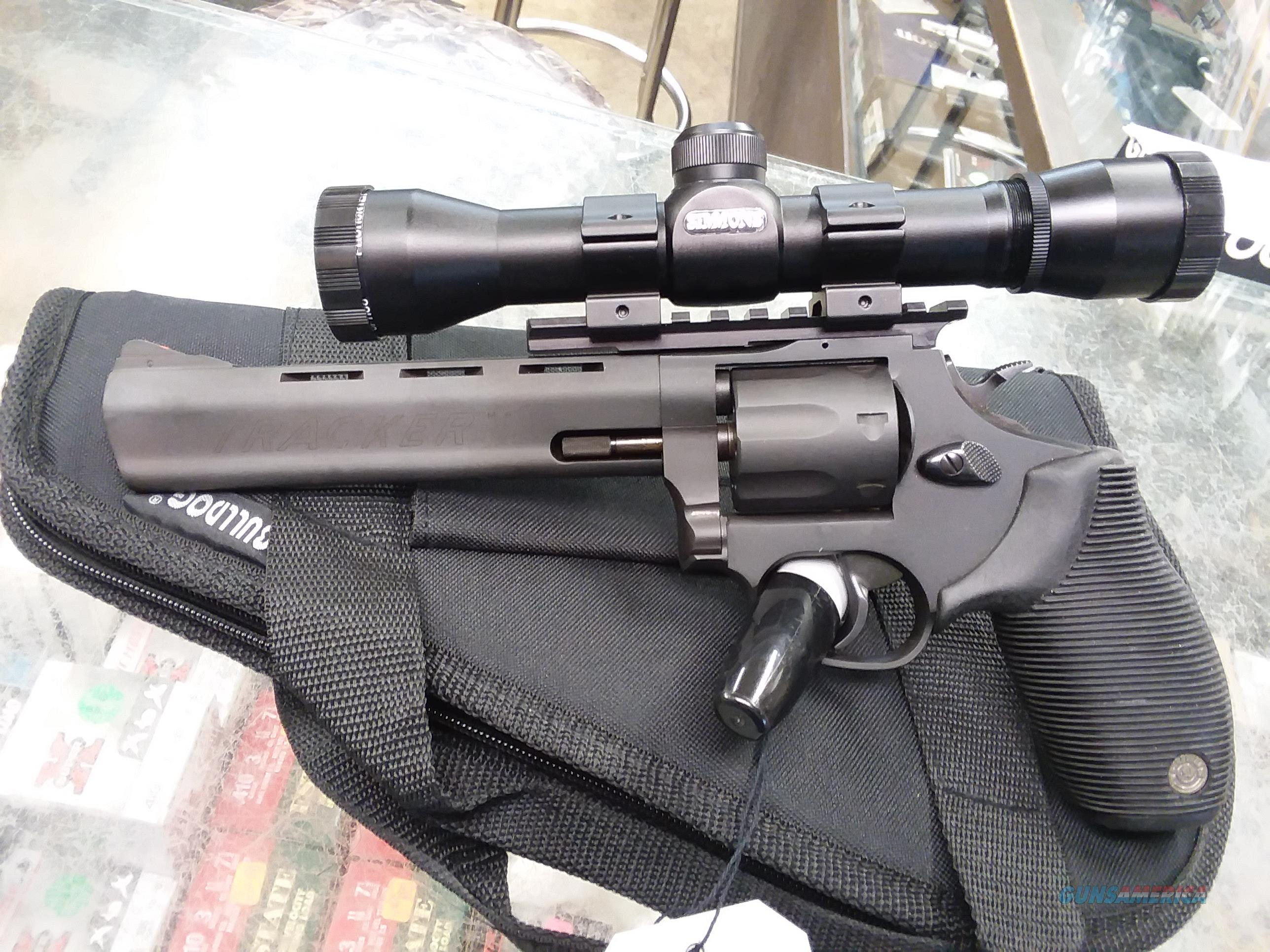 TAURUS MODEL 2170061 TRACKER 17HMR REVOLVER  Guns > Pistols > Taurus Pistols > Revolvers