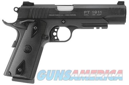 TAURUS HOT ROD 1911 1-191101-B1 45 ACP PISTOL  Guns > Pistols > Taurus Pistols > Semi Auto Pistols > Steel Frame