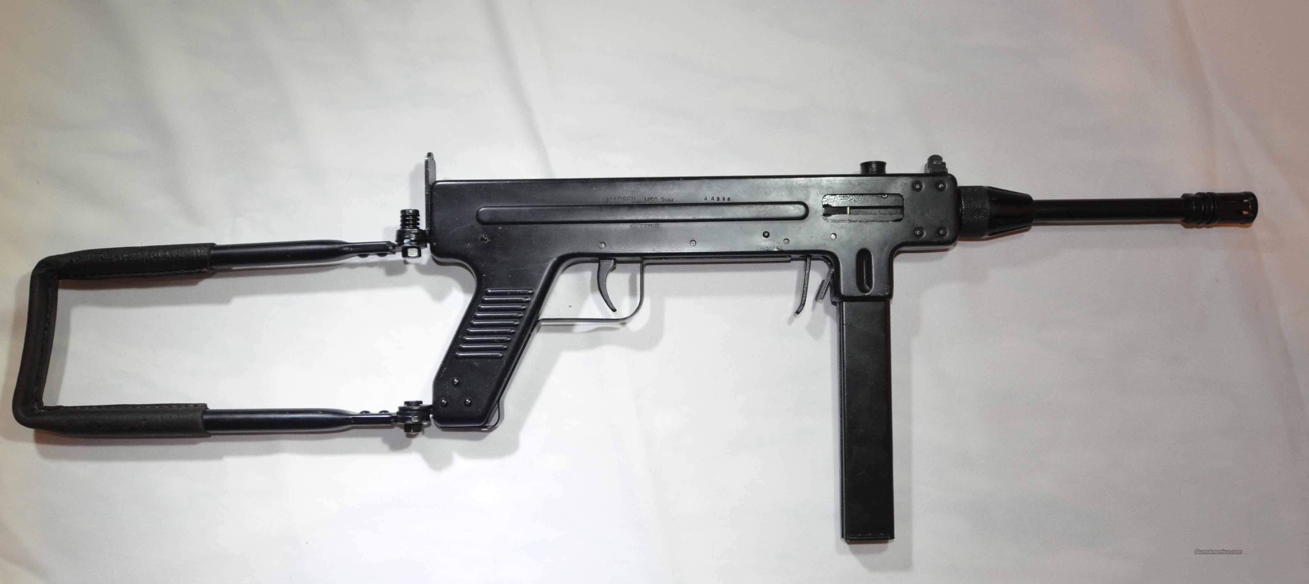 MADSEN M-50 SMG  Guns > Rifles > Military Misc. Rifles Non-US > Other