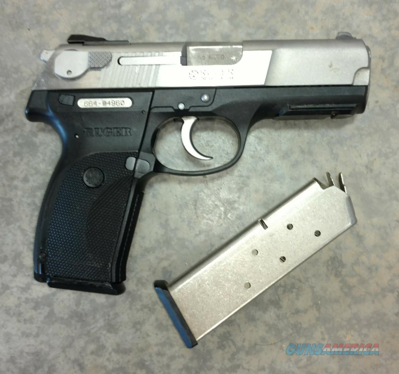 Ruger P345 SS ..45 ACP Pistol 2 mags  Guns > Pistols > Ruger Semi-Auto Pistols > P-Series