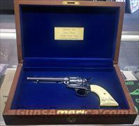 Richard Petty Uberti SAA 45lc Revolver, Silver Eagle Engraved, #120 of 1000  Guns > Pistols > Custom Pistols > Cowboy Action